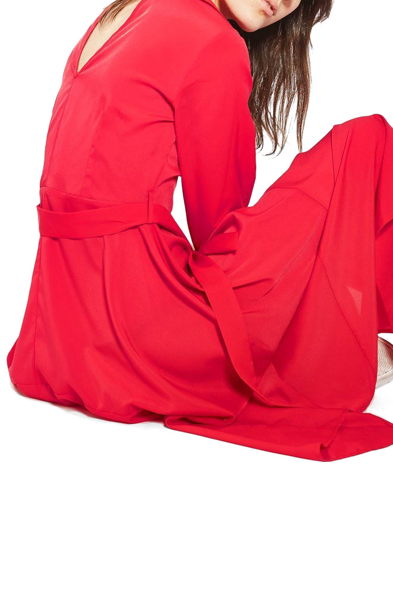 Handkerchief Hem Midi Shirtdress,                             Alternate thumbnail 3, color,                             600