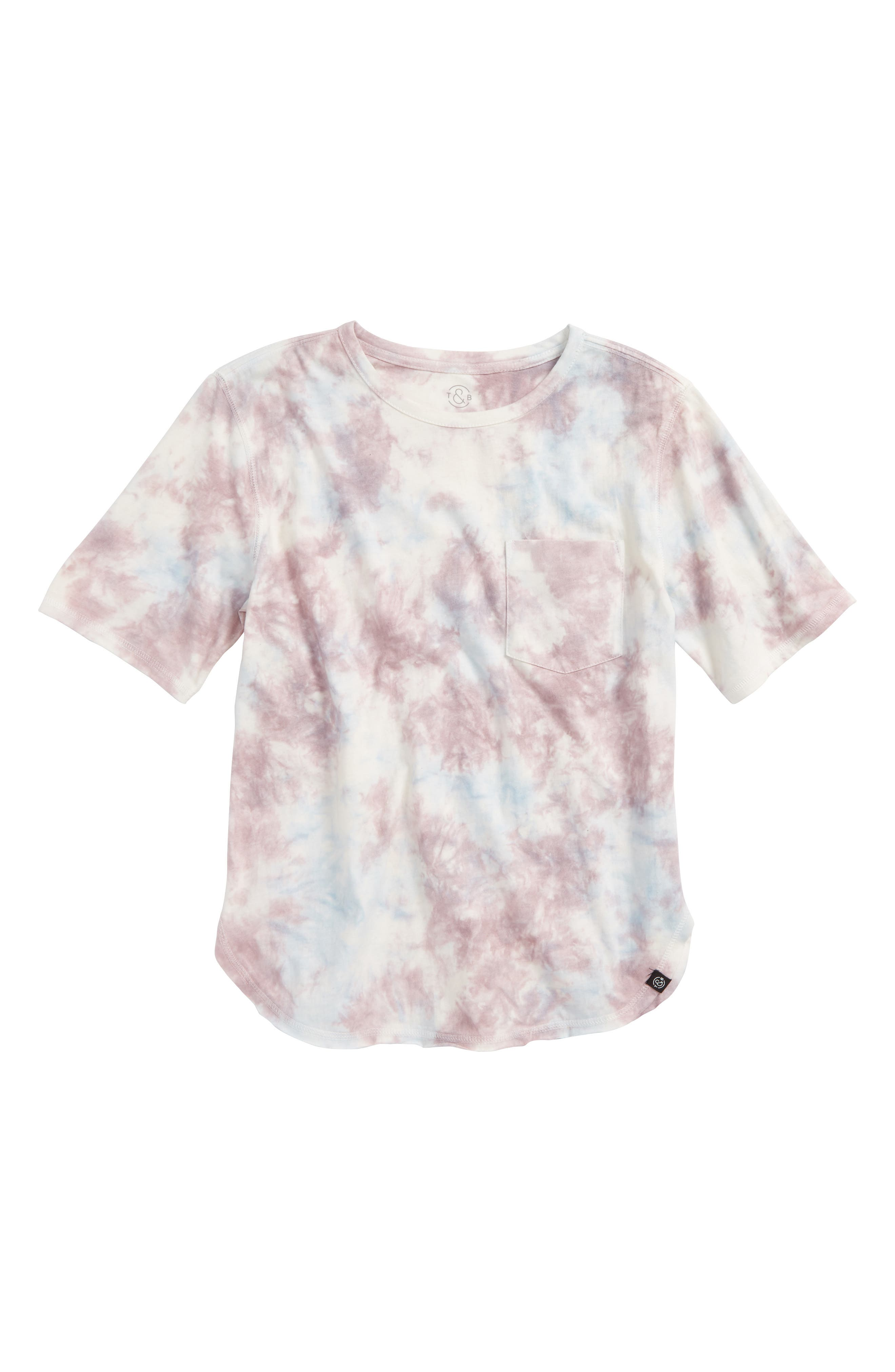 TREASURE & BOND Tie Dye T-Shirt, Main, color, 900