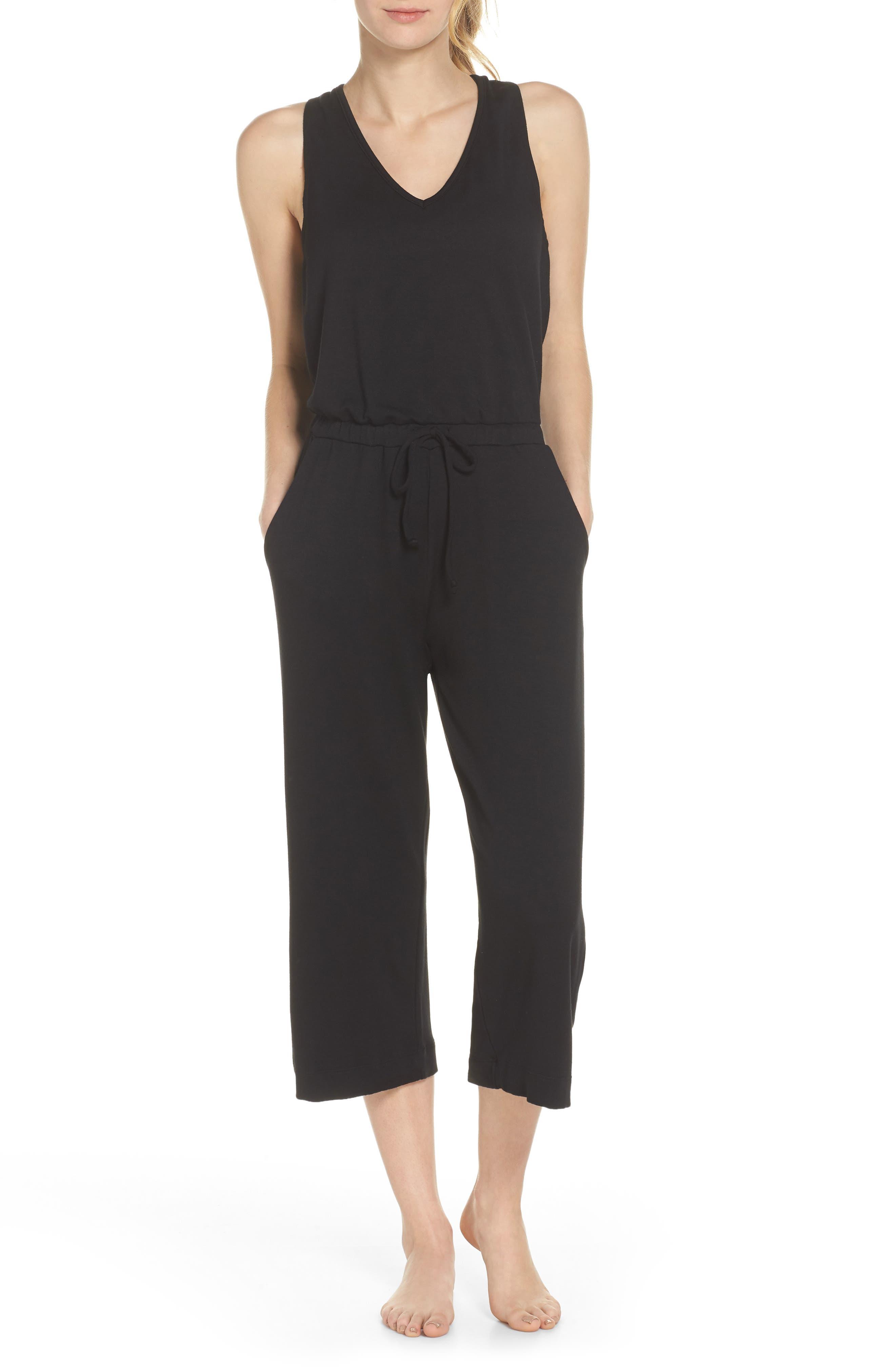 Farrah Cropped Jumpsuit,                         Main,                         color, 007