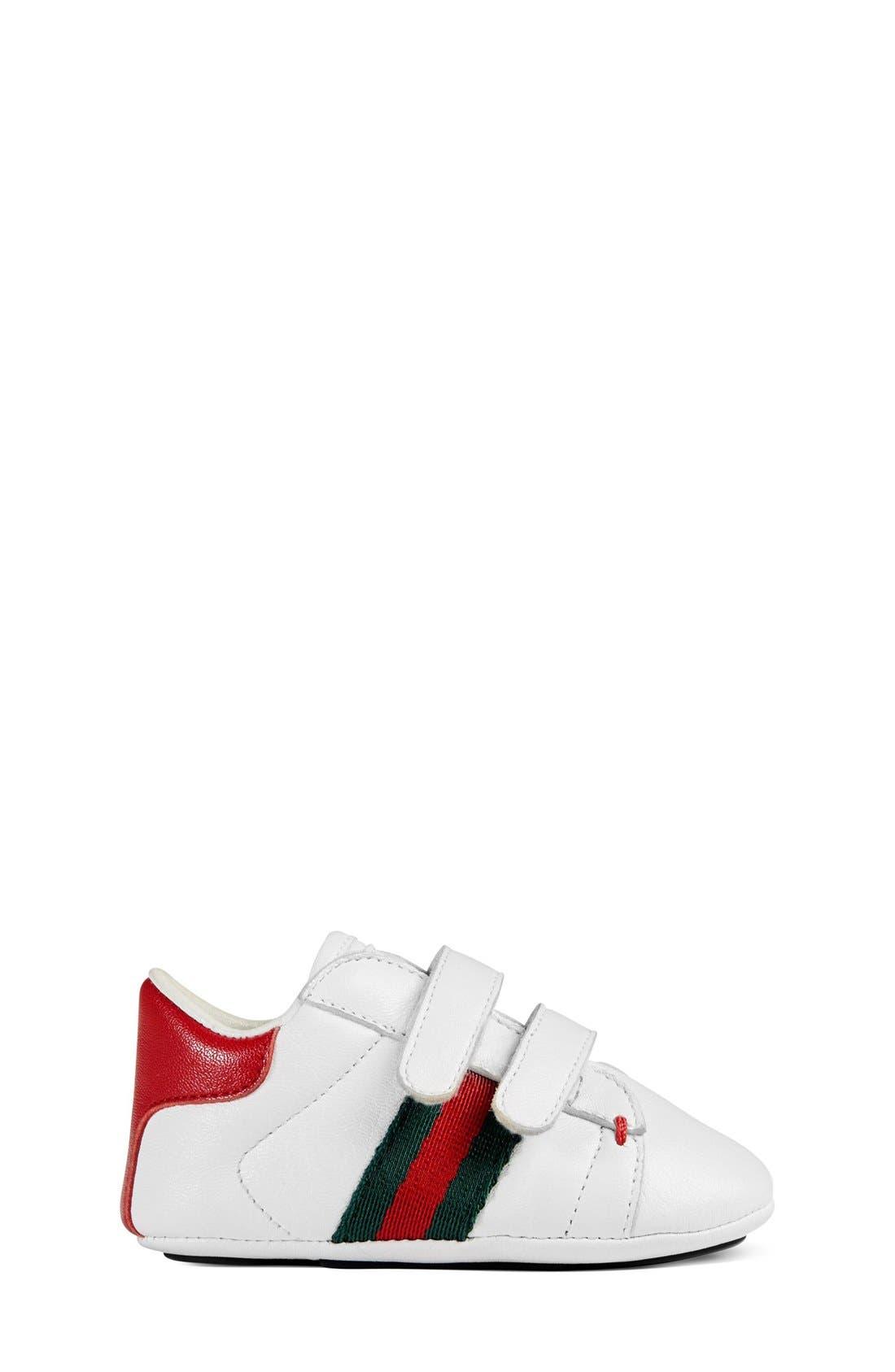 'Ace' Crib Shoe,                             Alternate thumbnail 6, color,                             100