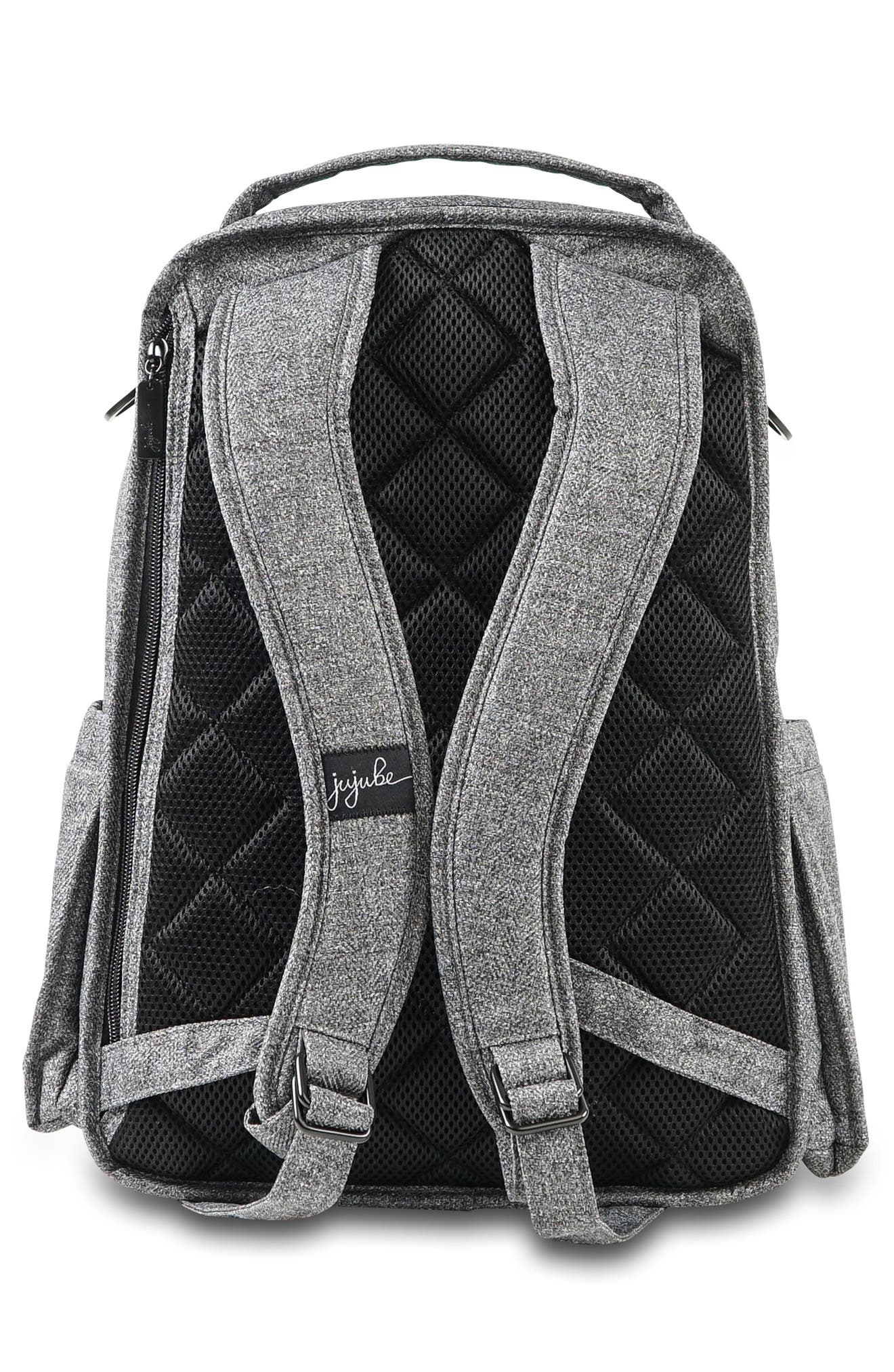 'Be Right Back - Onyx Collection' Diaper Backpack,                             Alternate thumbnail 2, color,                             GRAY MATTER