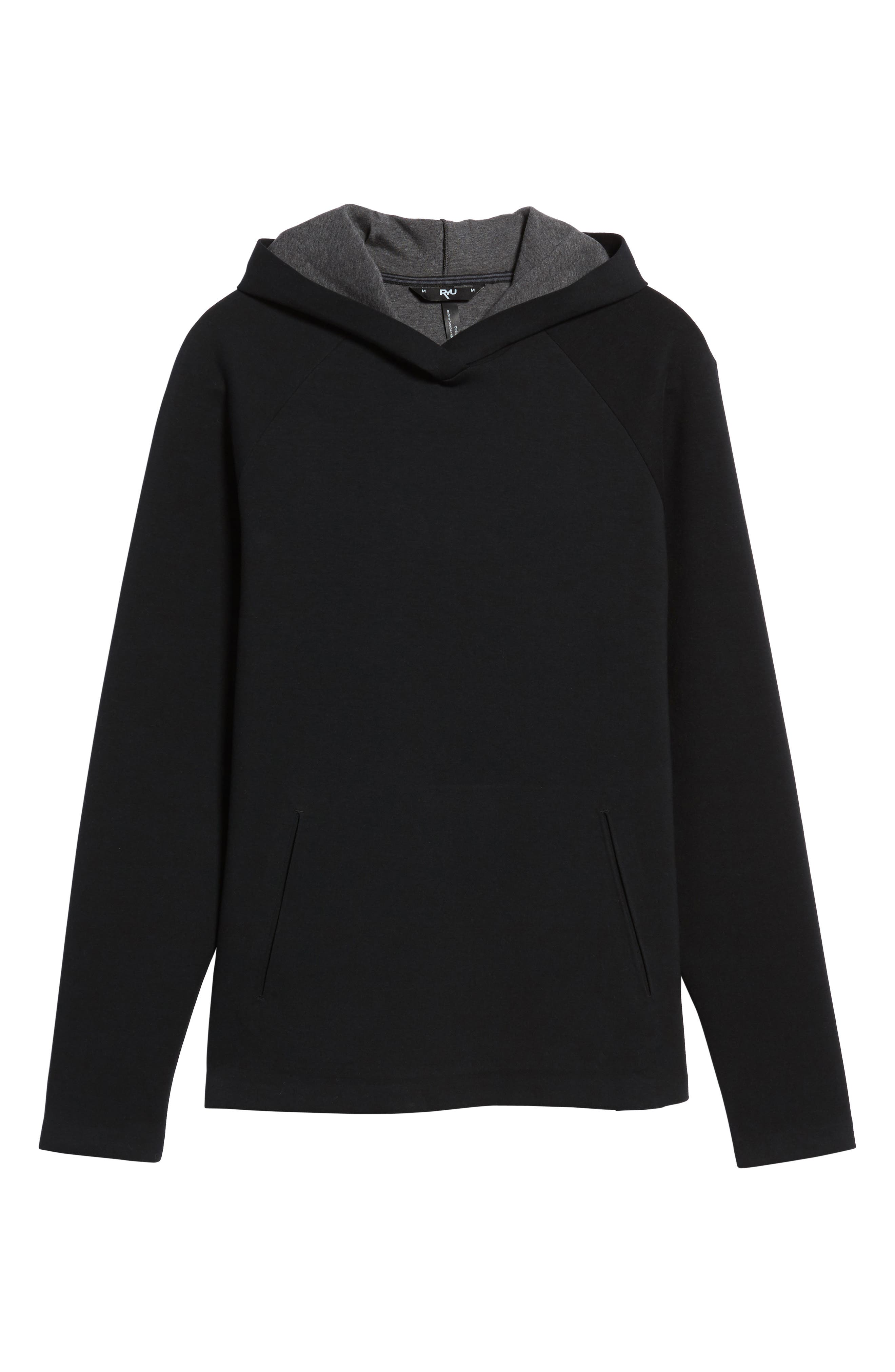 Sportswear AJ11 Hybrid Hoodie,                             Alternate thumbnail 6, color,                             010