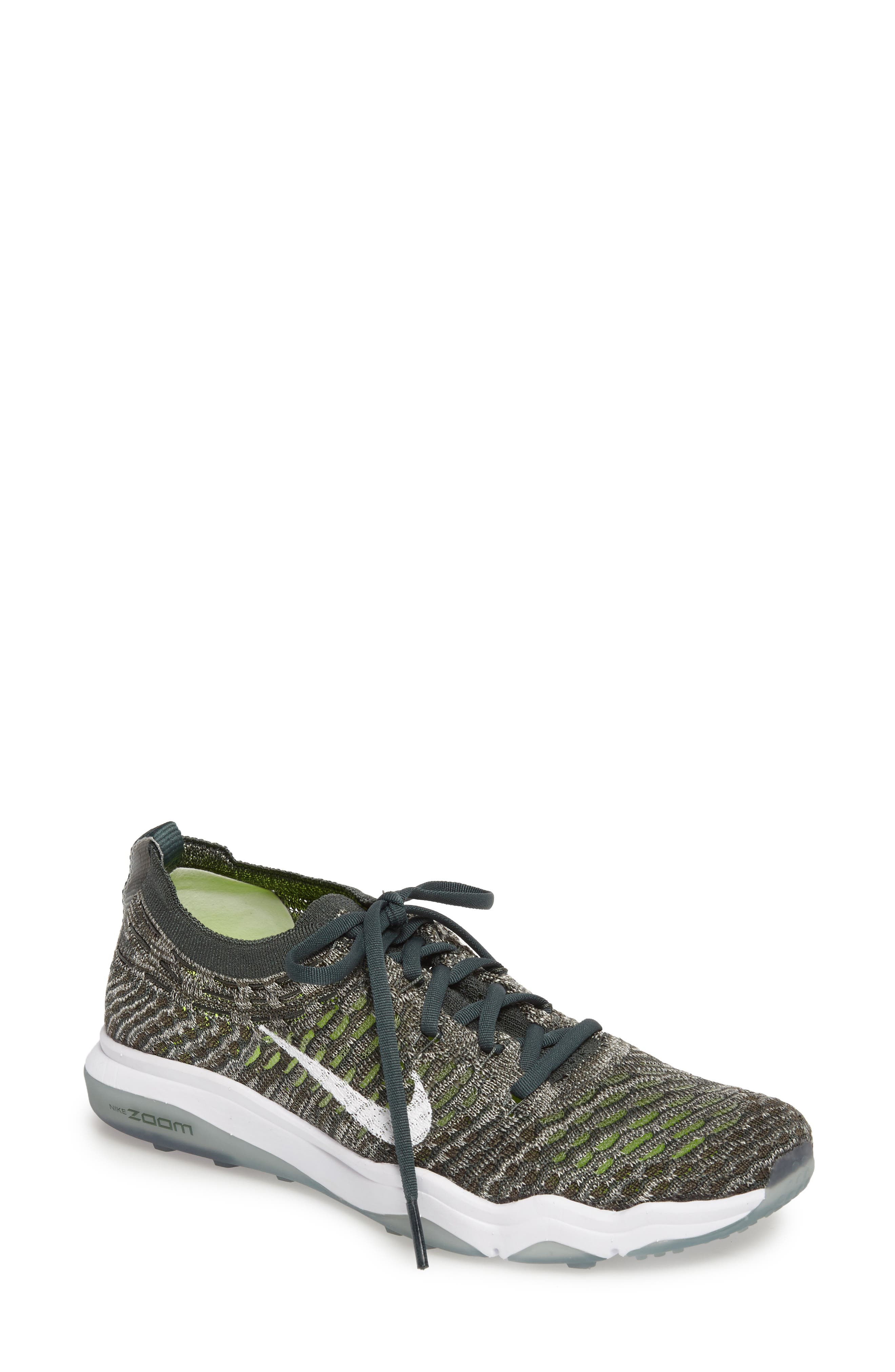 Air Zoom Fearless Flyknit Training Shoe,                             Main thumbnail 3, color,