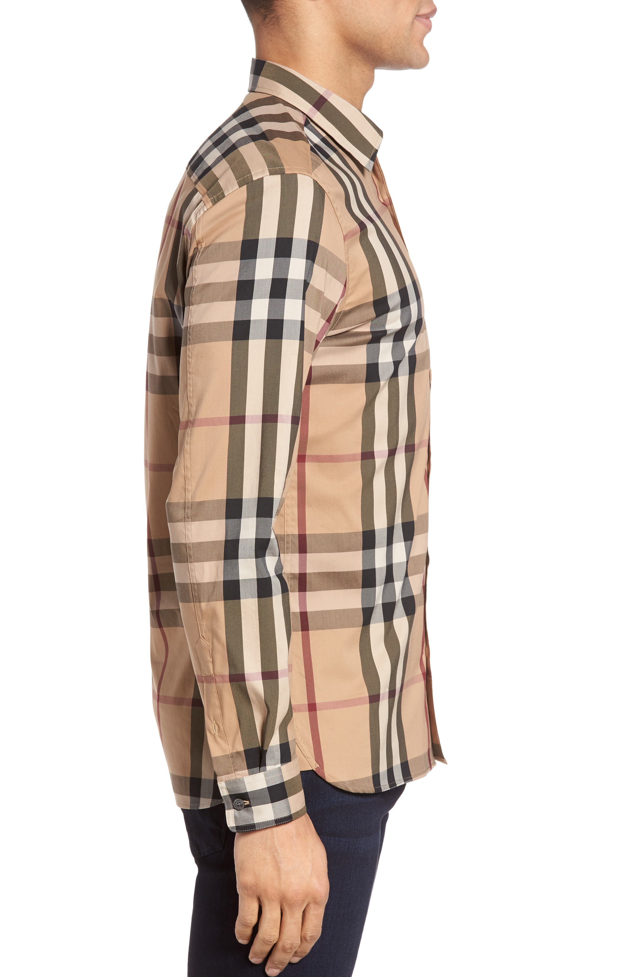 Nelson Check Sport Shirt,                             Alternate thumbnail 59, color,