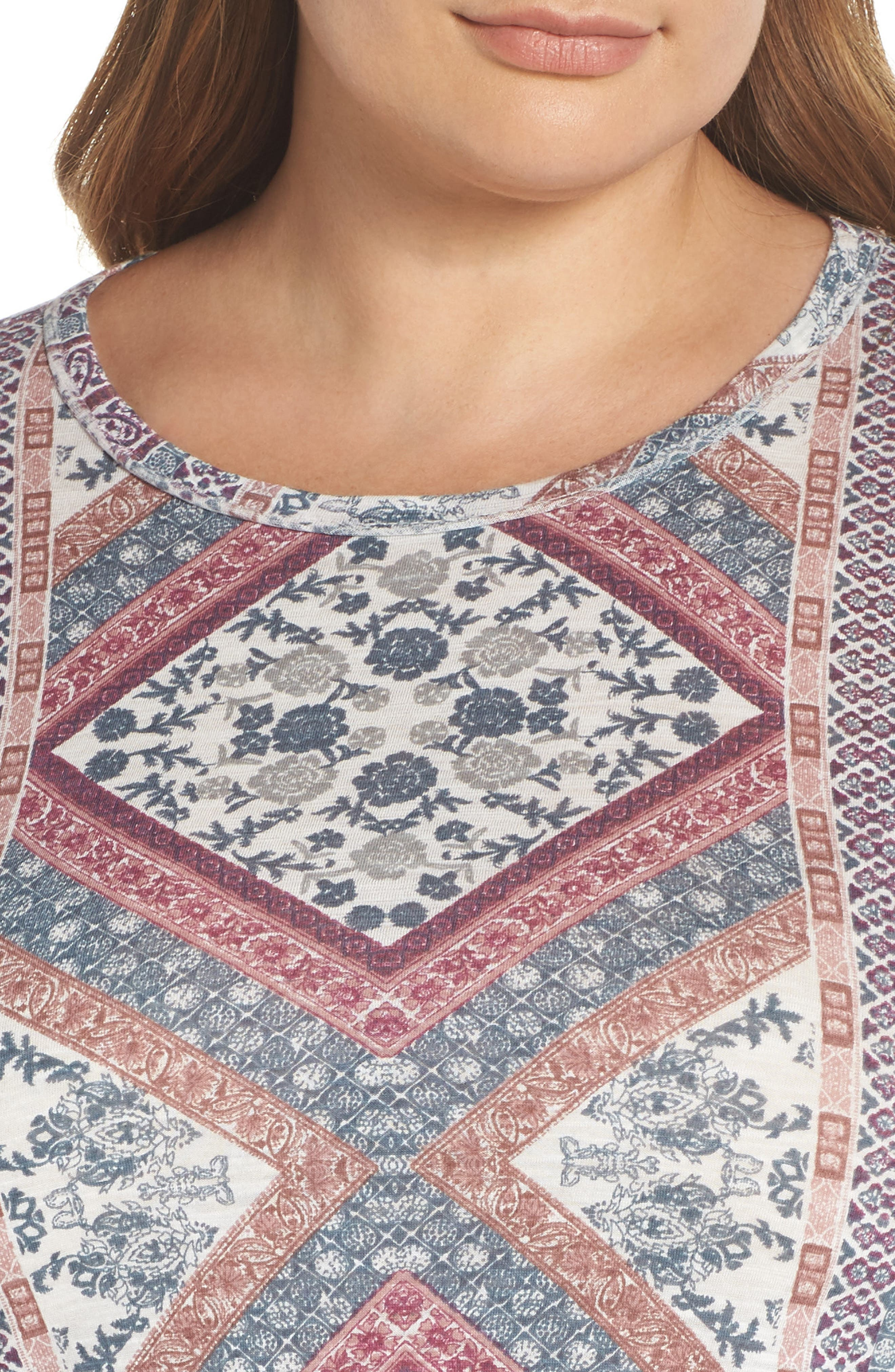 Tapestry Blouse,                             Alternate thumbnail 4, color,                             430