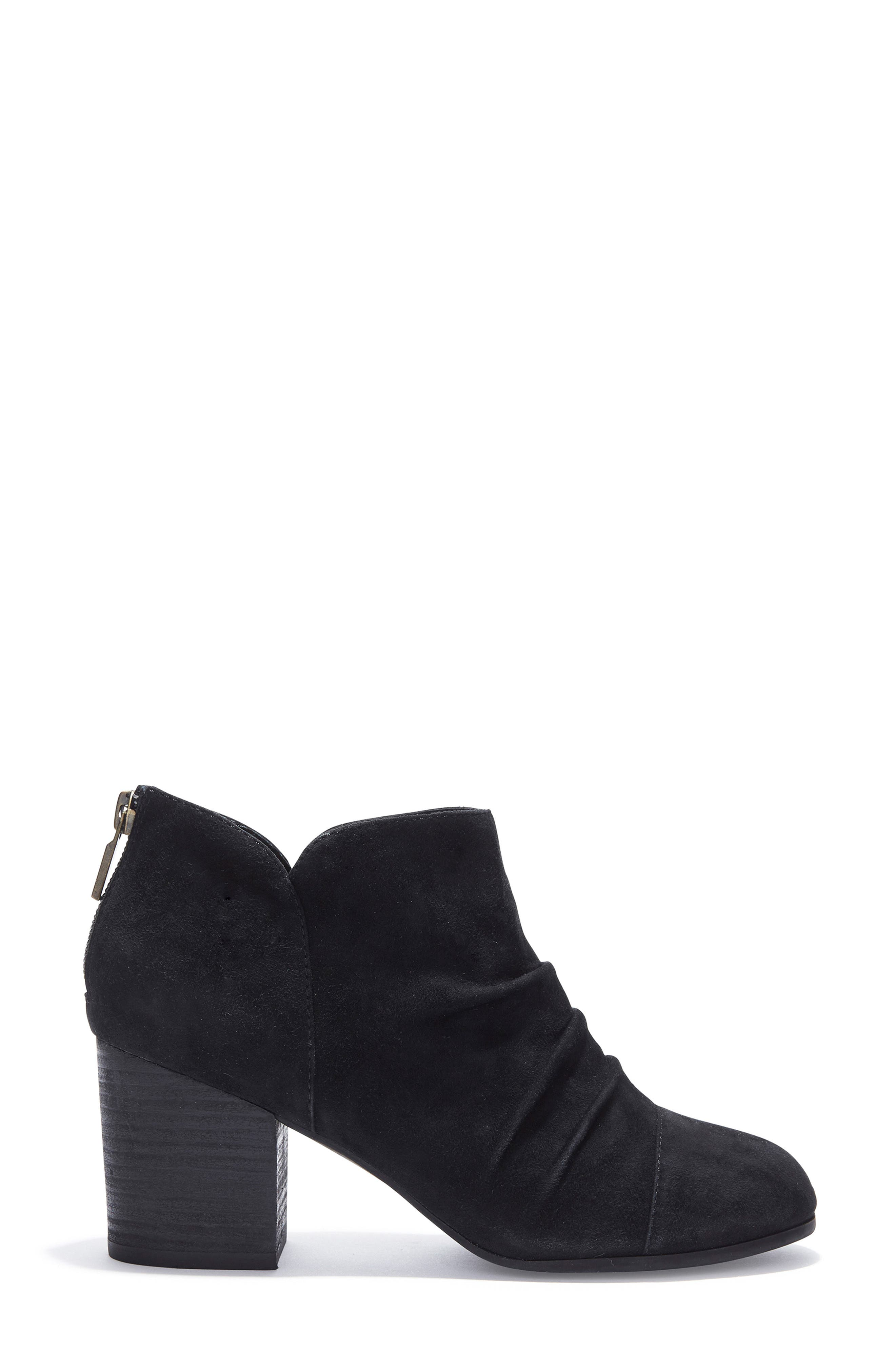 Adam Tucker Sierra Ruched Bootie,                             Alternate thumbnail 3, color,                             014