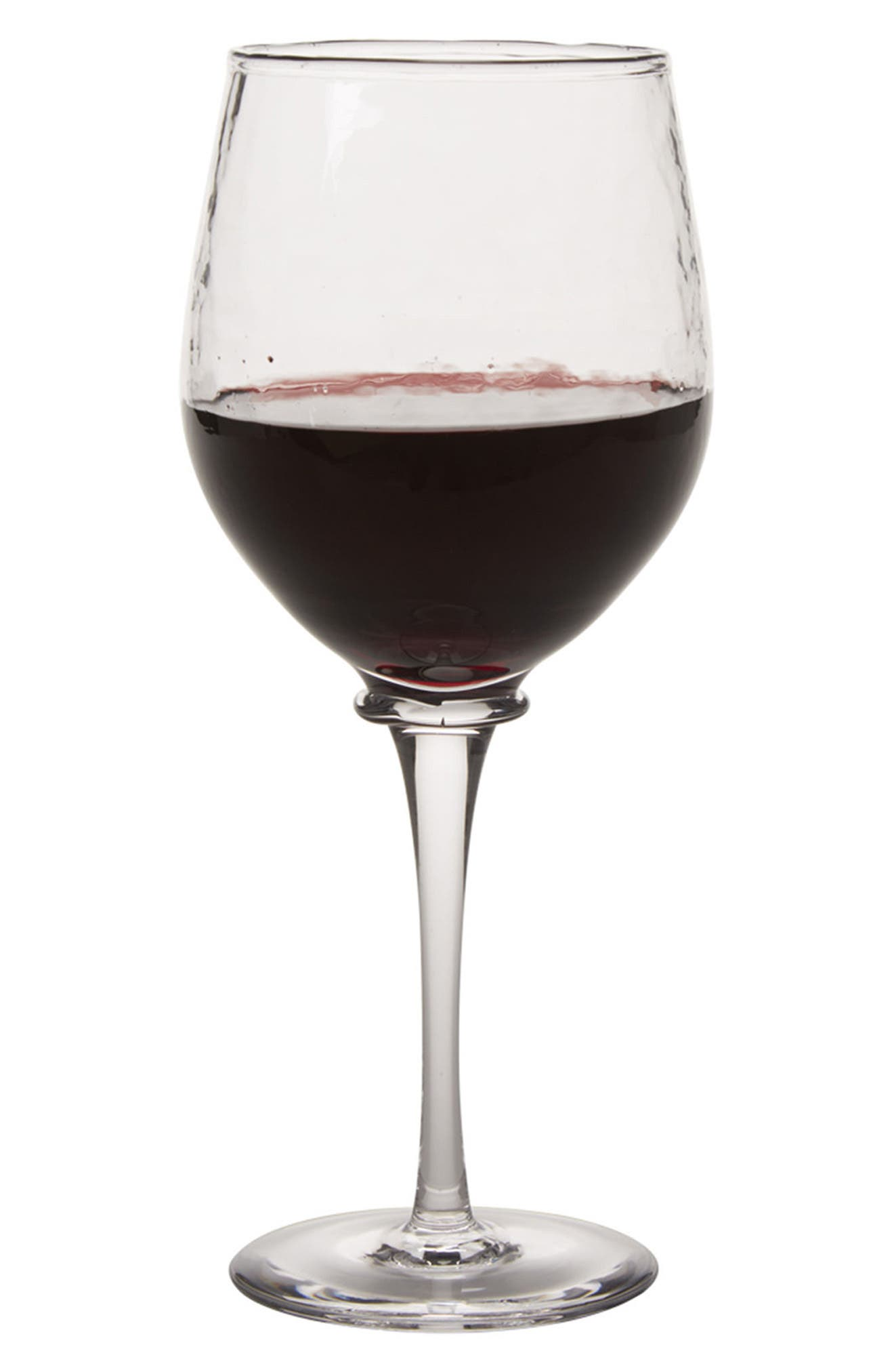 Carine Red Wine Goblet,                             Alternate thumbnail 2, color,                             CLEAR