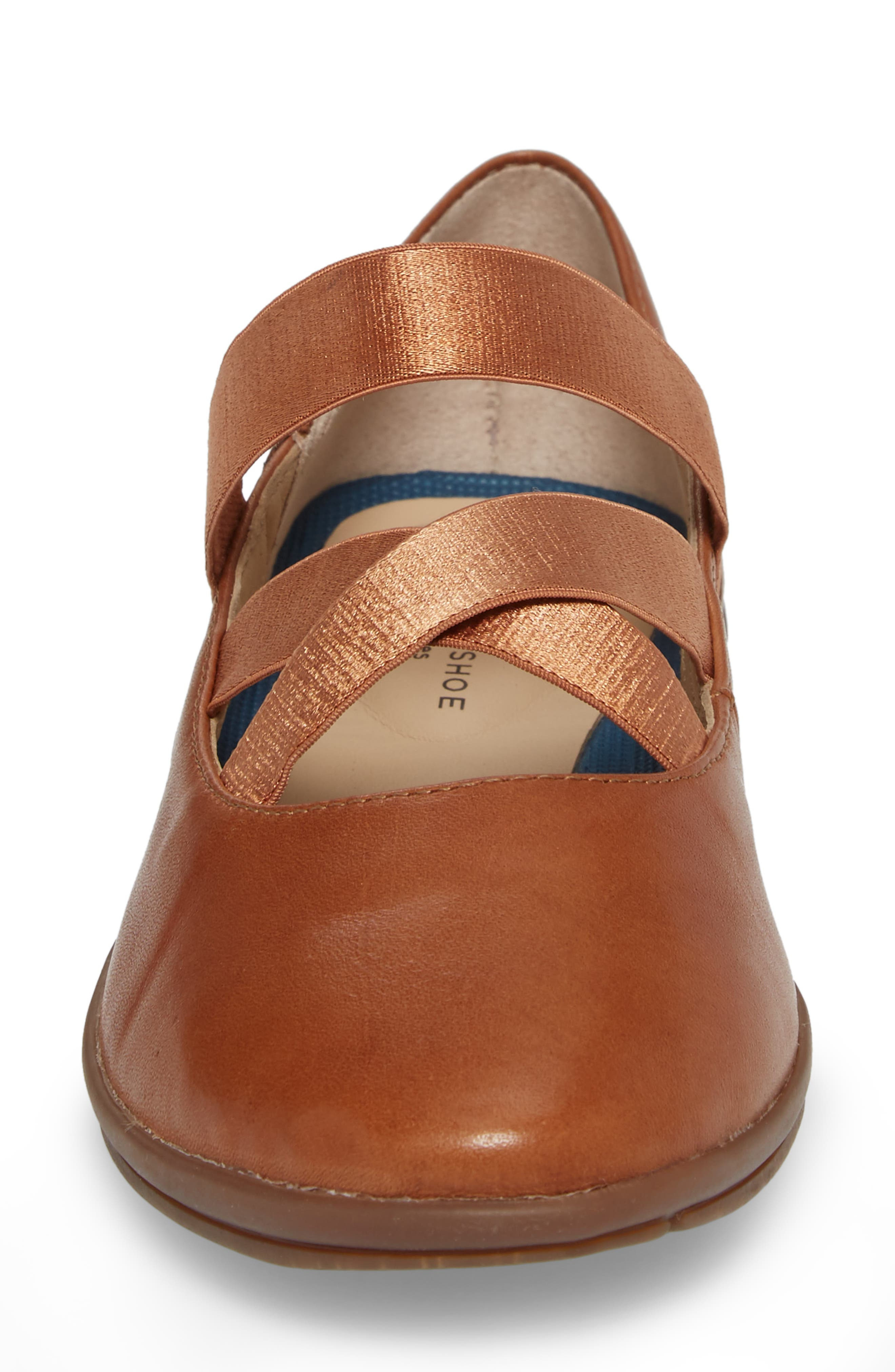 Meree Madrine Cross Strap Flat,                             Alternate thumbnail 16, color,