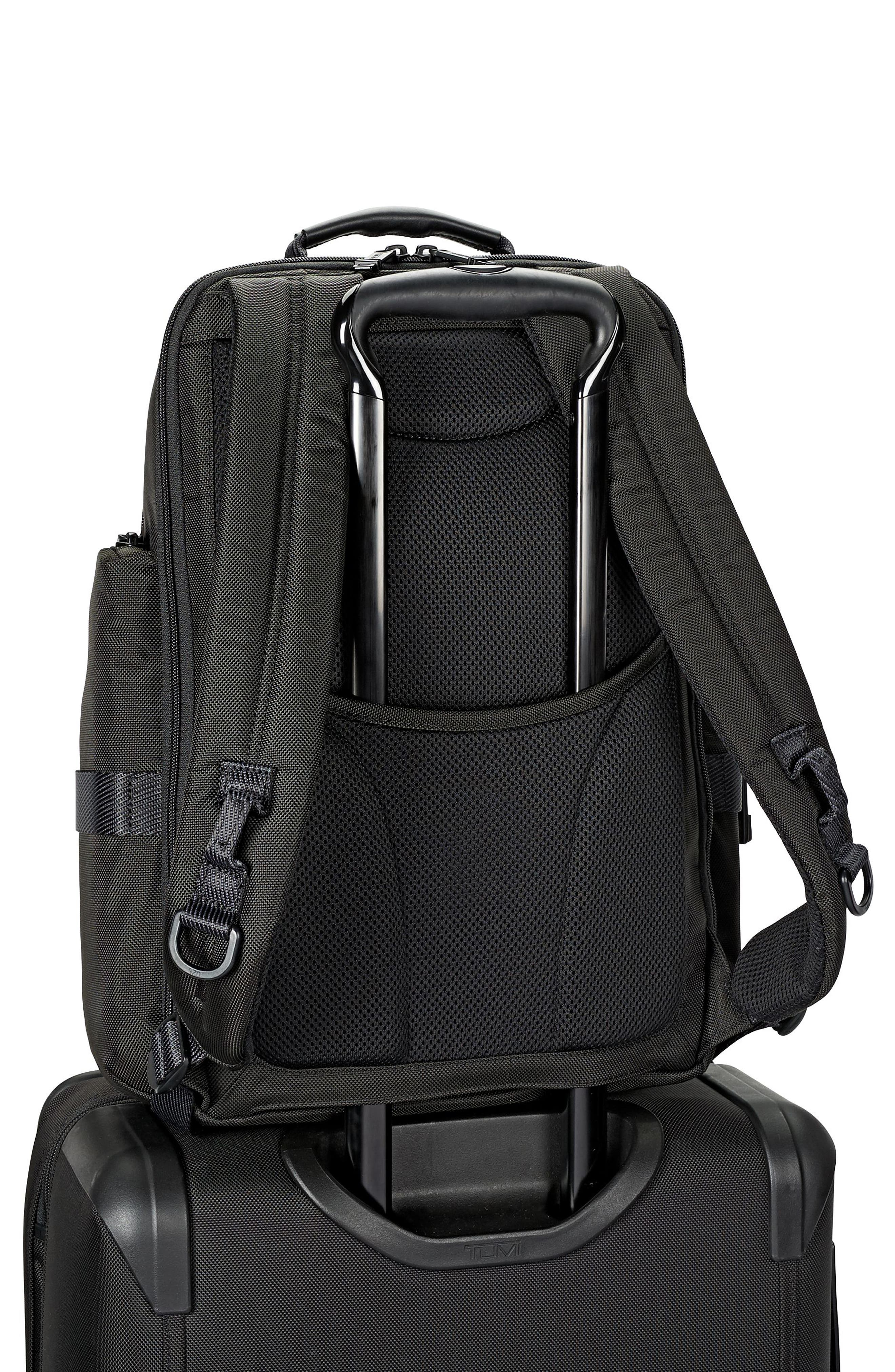 Alpha Bravo - Sheppard Deluxe Backpack,                             Alternate thumbnail 2, color,                             BLACK
