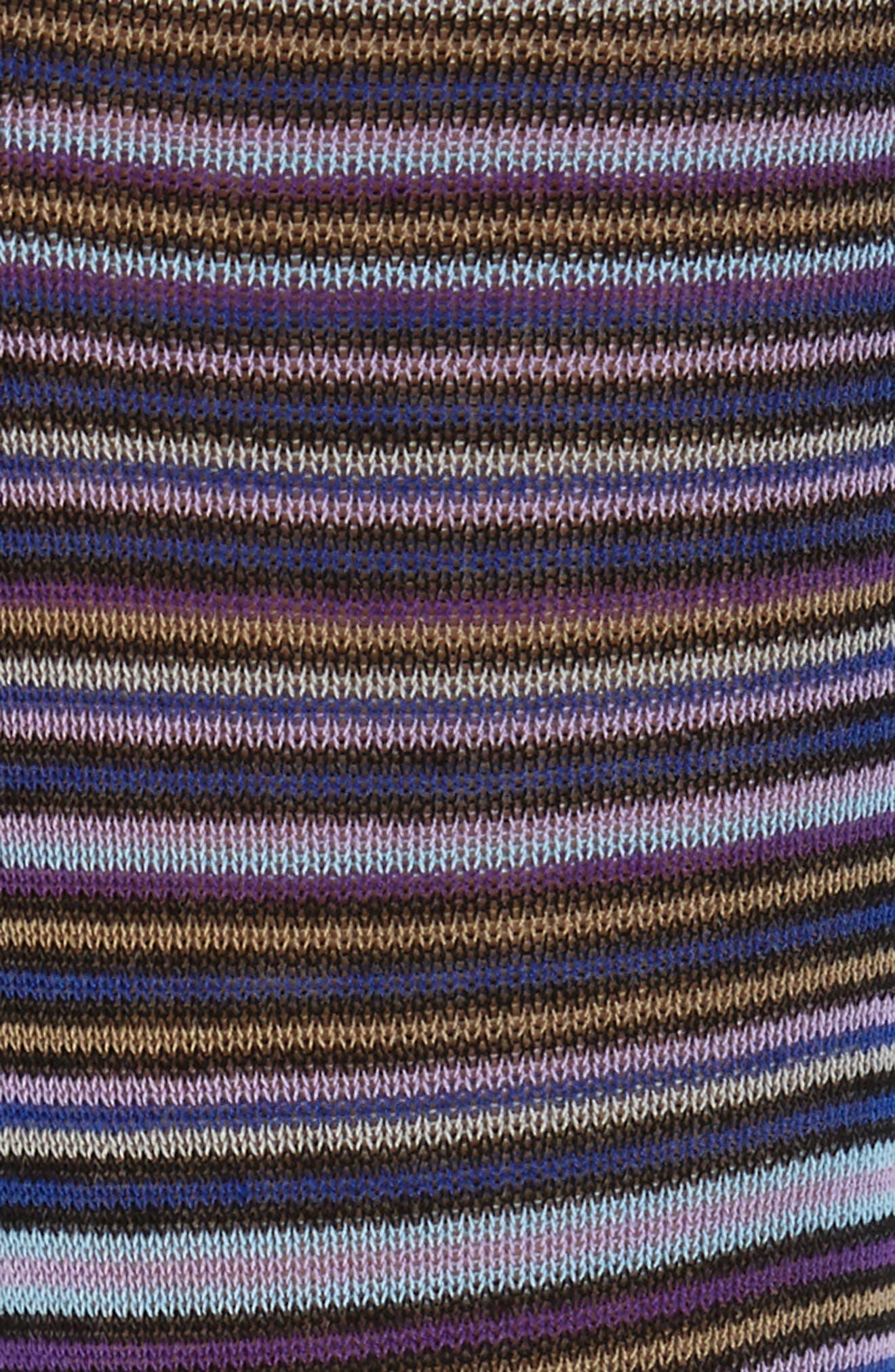 Multistripe Crew Socks,                             Alternate thumbnail 2, color,