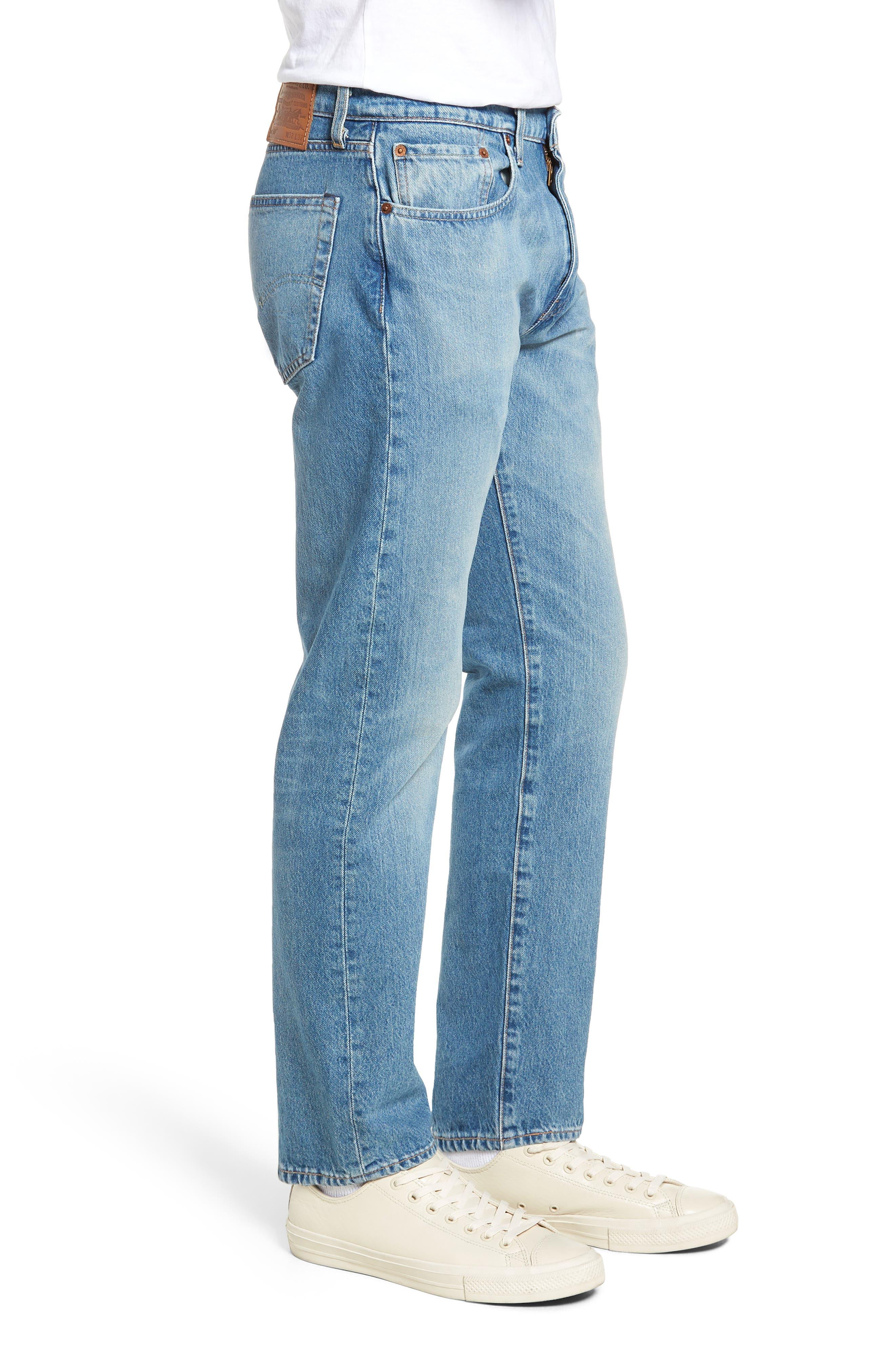 502<sup>™</sup> Slim Fit Jeans,                             Alternate thumbnail 3, color,                             GRANDPAS WARP