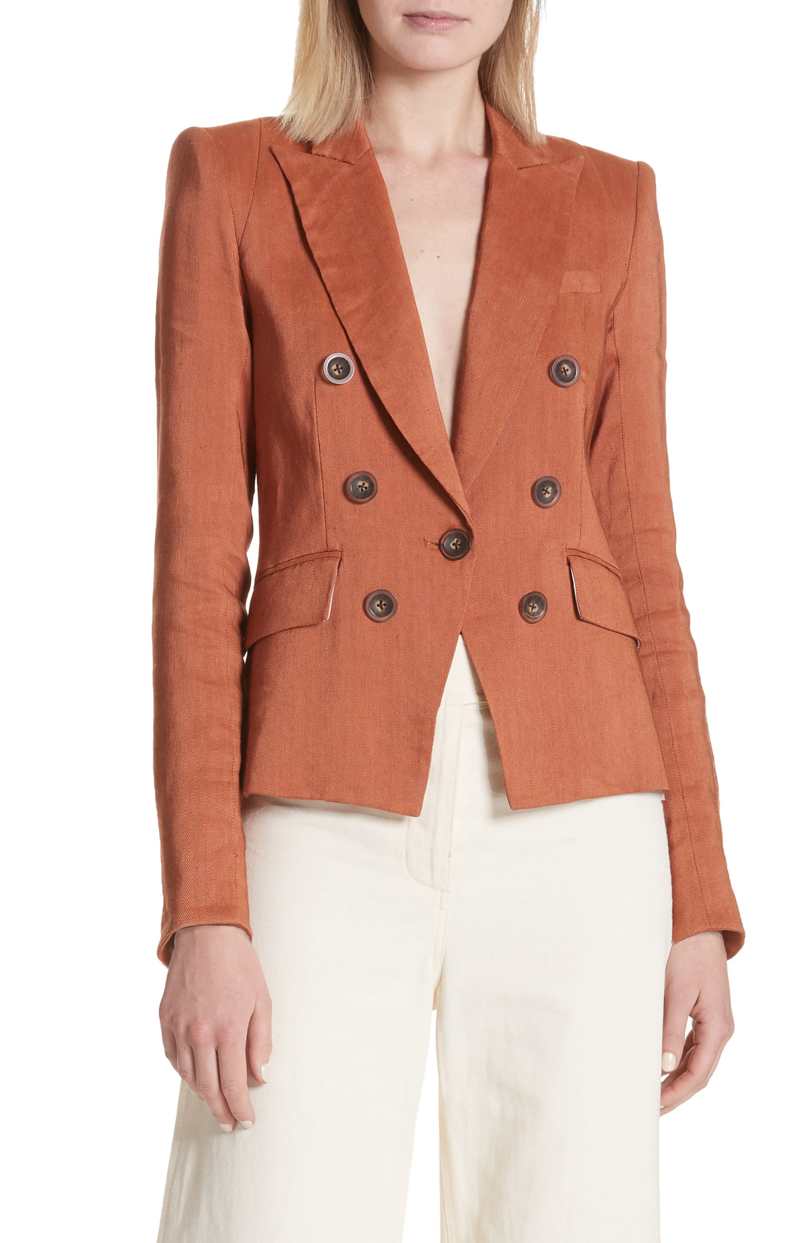 Diego Linen Blend Dickey Jacket,                         Main,                         color, 821