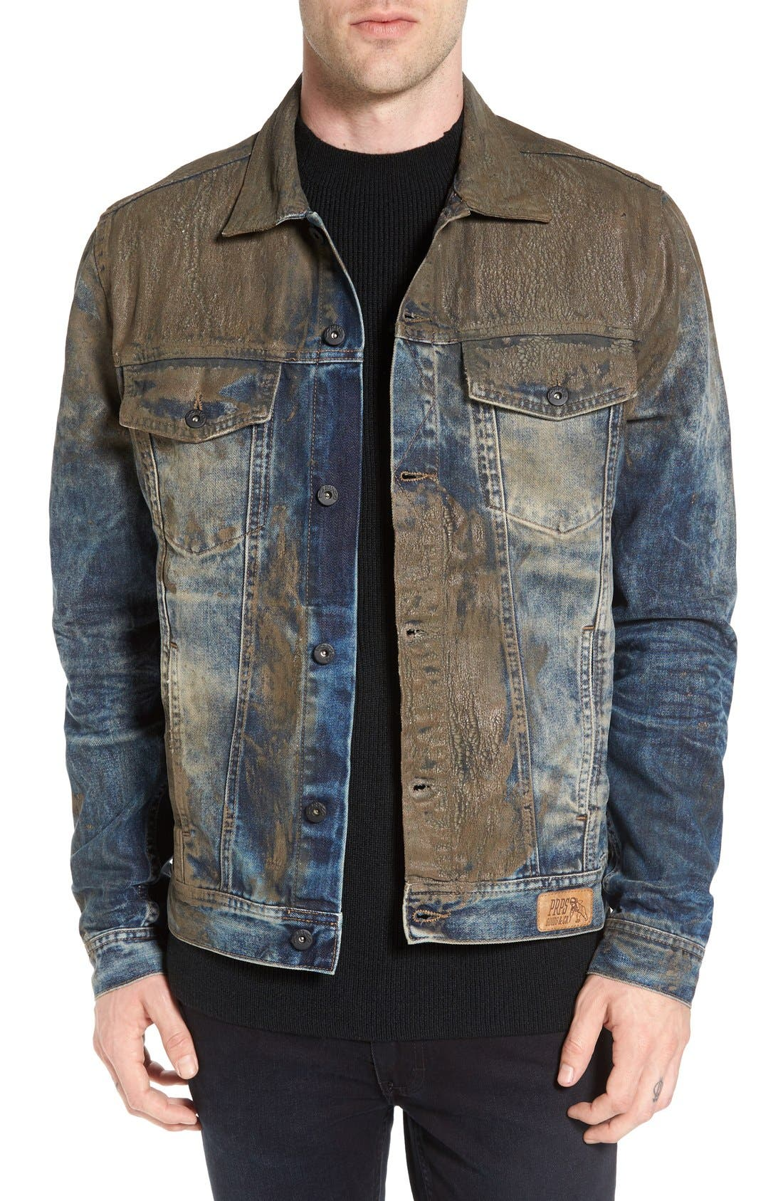 Mud Denim Jacket, Main, color, 490
