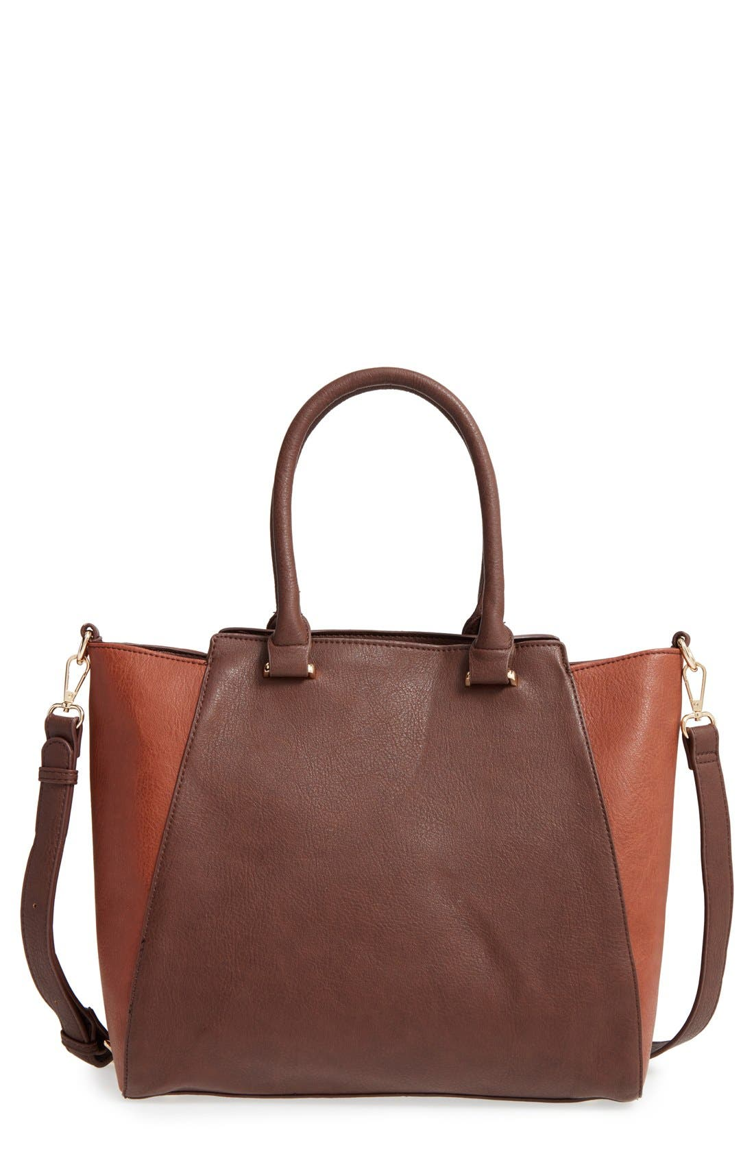 'Jeanine' Satchel,                             Main thumbnail 5, color,