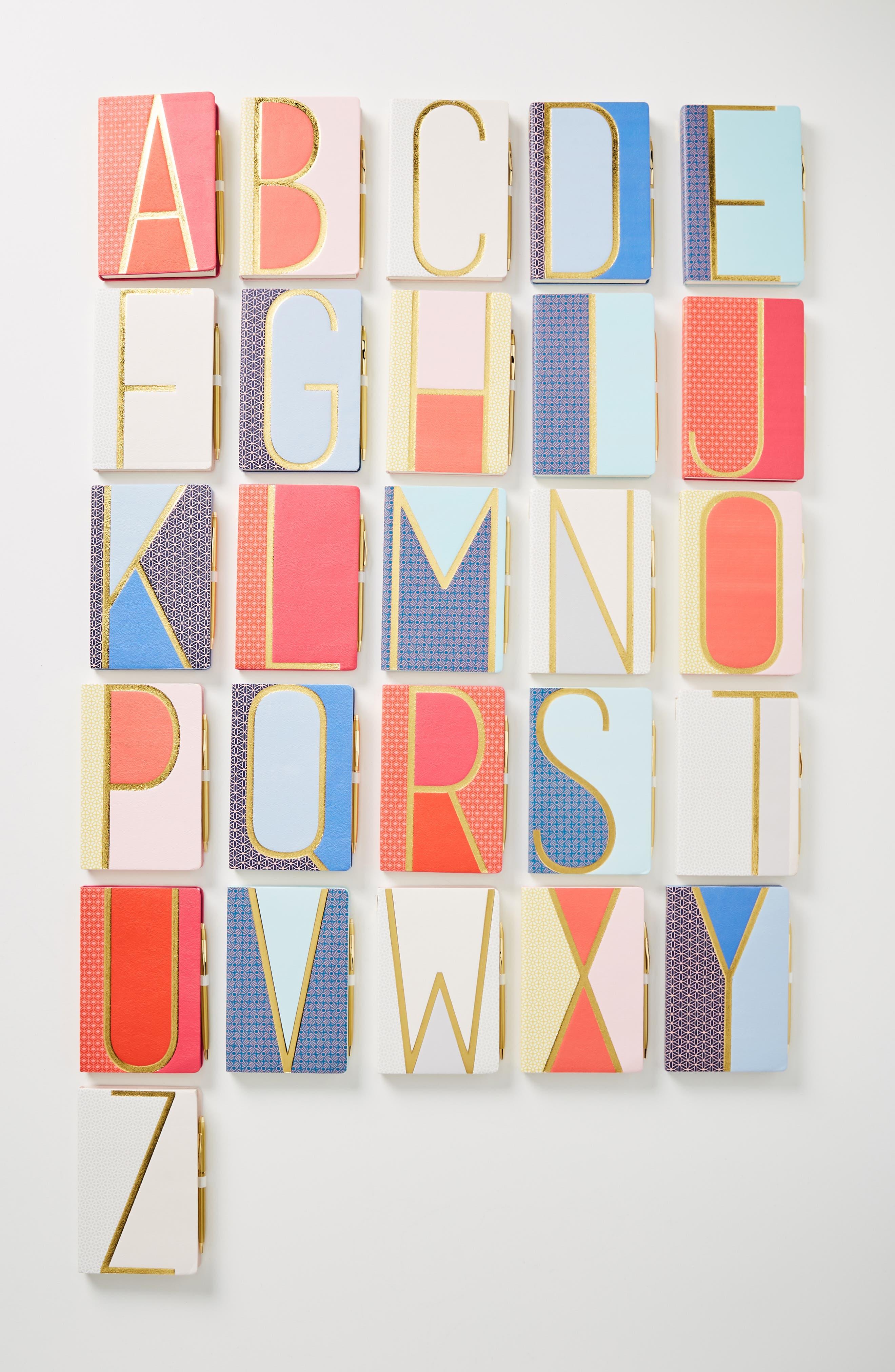 Bijou Monogram Journal, Main, color, F