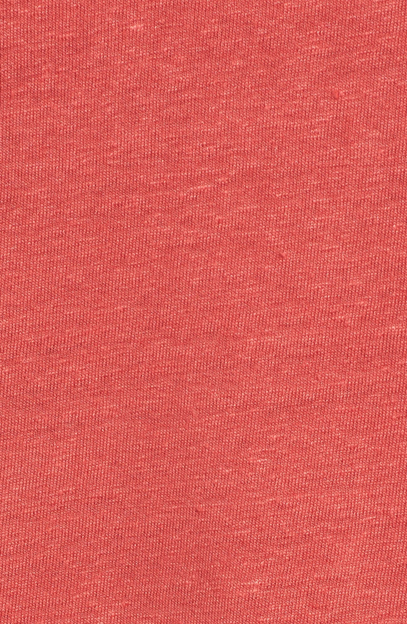 Ruffle Sleeve Tee,                             Alternate thumbnail 5, color,                             610