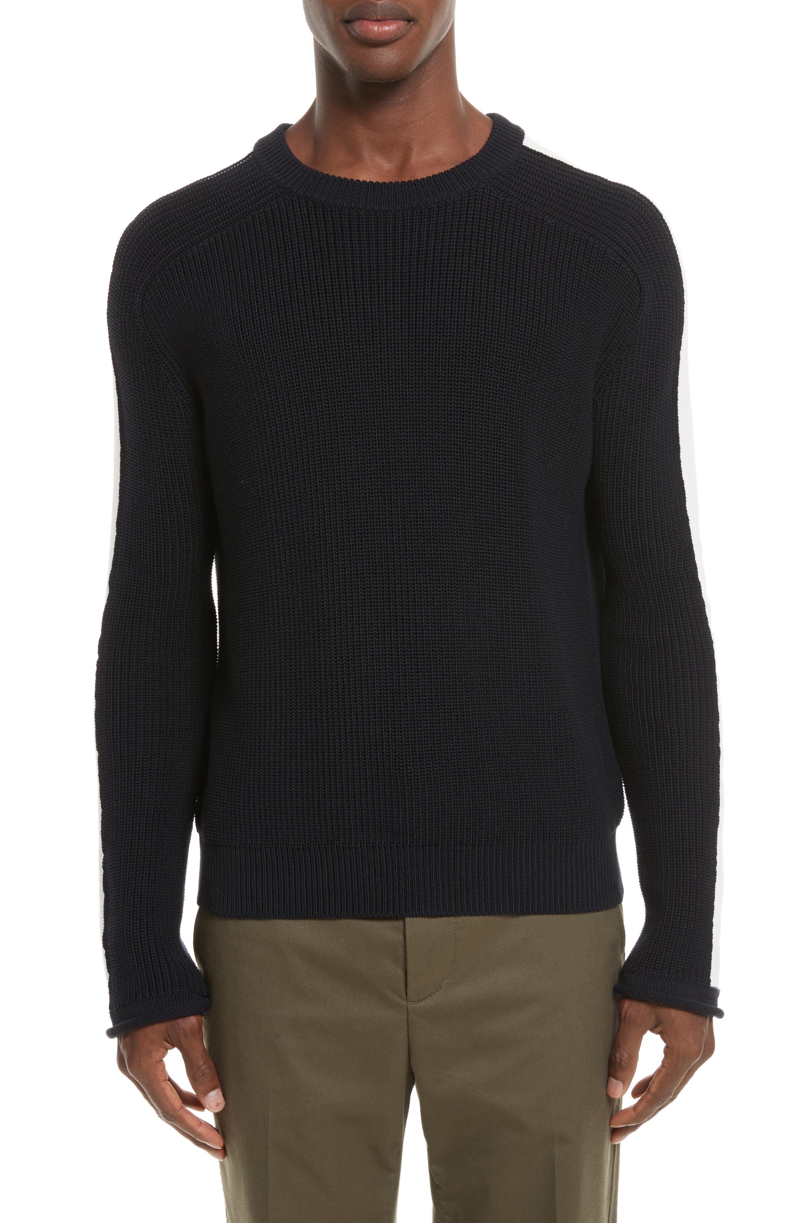 Ribbed Sweater,                             Main thumbnail 1, color,