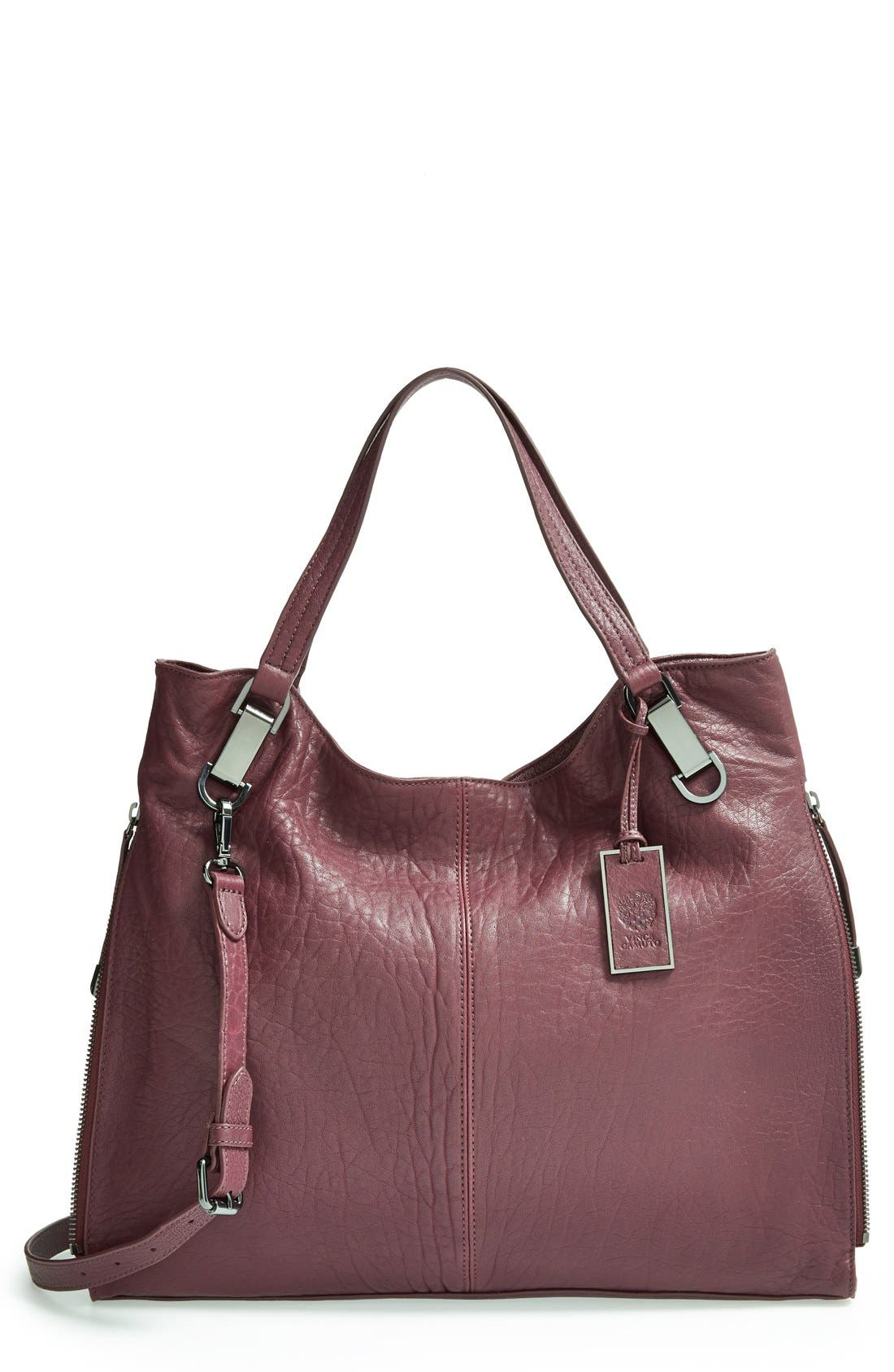 'Riley' Leather Tote,                             Main thumbnail 25, color,