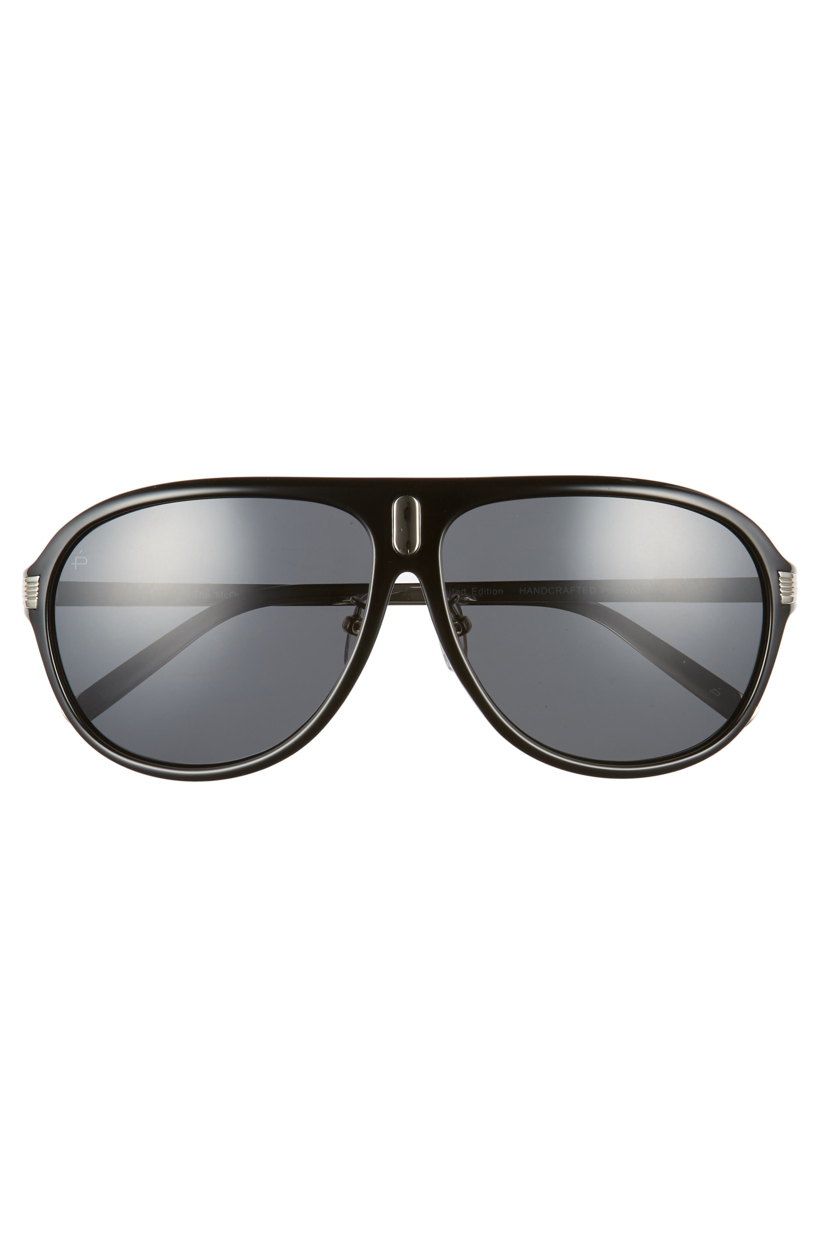 Privé Revaux The McQueen 62mm Polarized Aviator Sunglasses,                             Alternate thumbnail 2, color,                             001