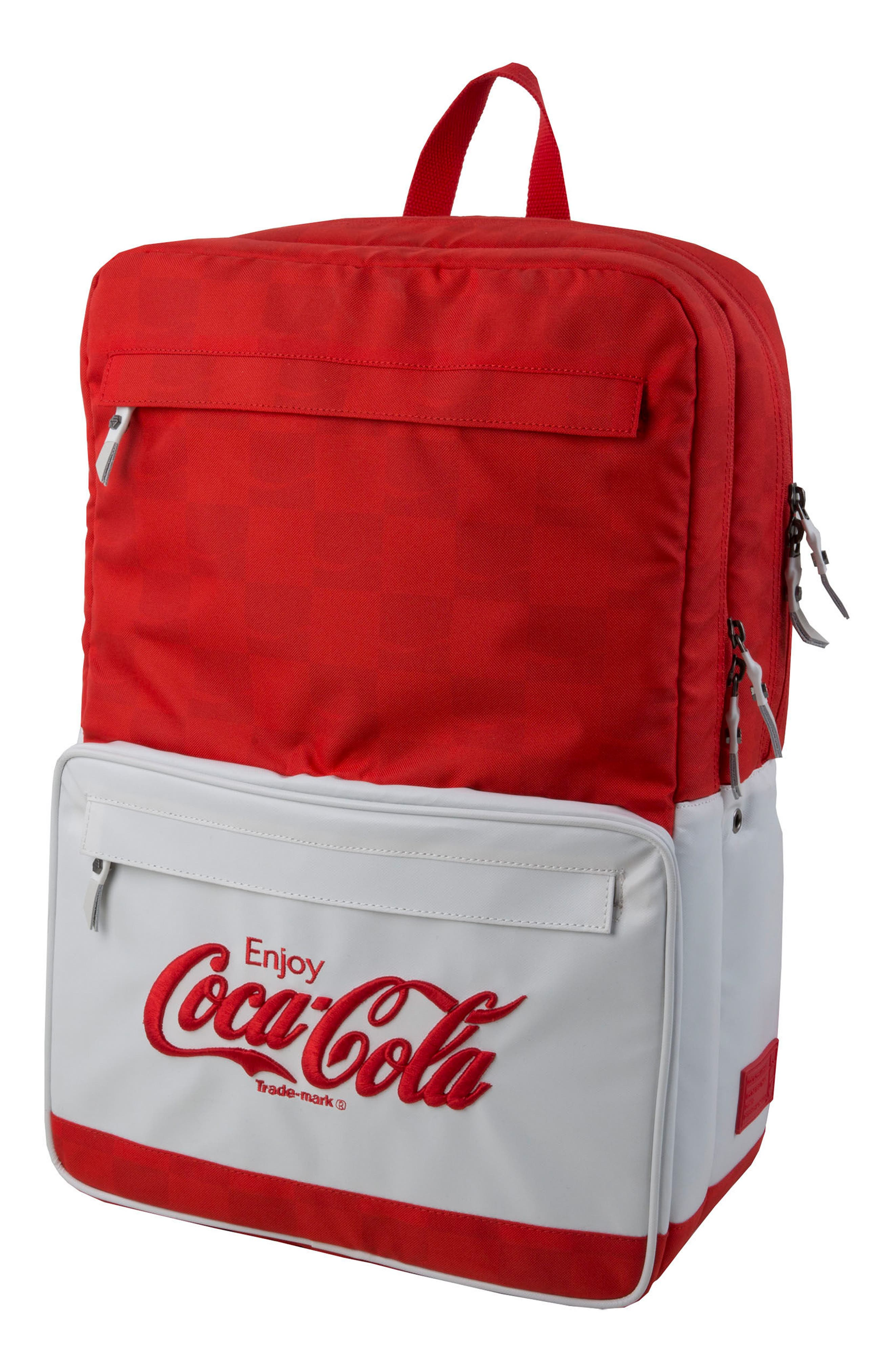 Coca Cola Sneaker Backpack,                         Main,                         color,