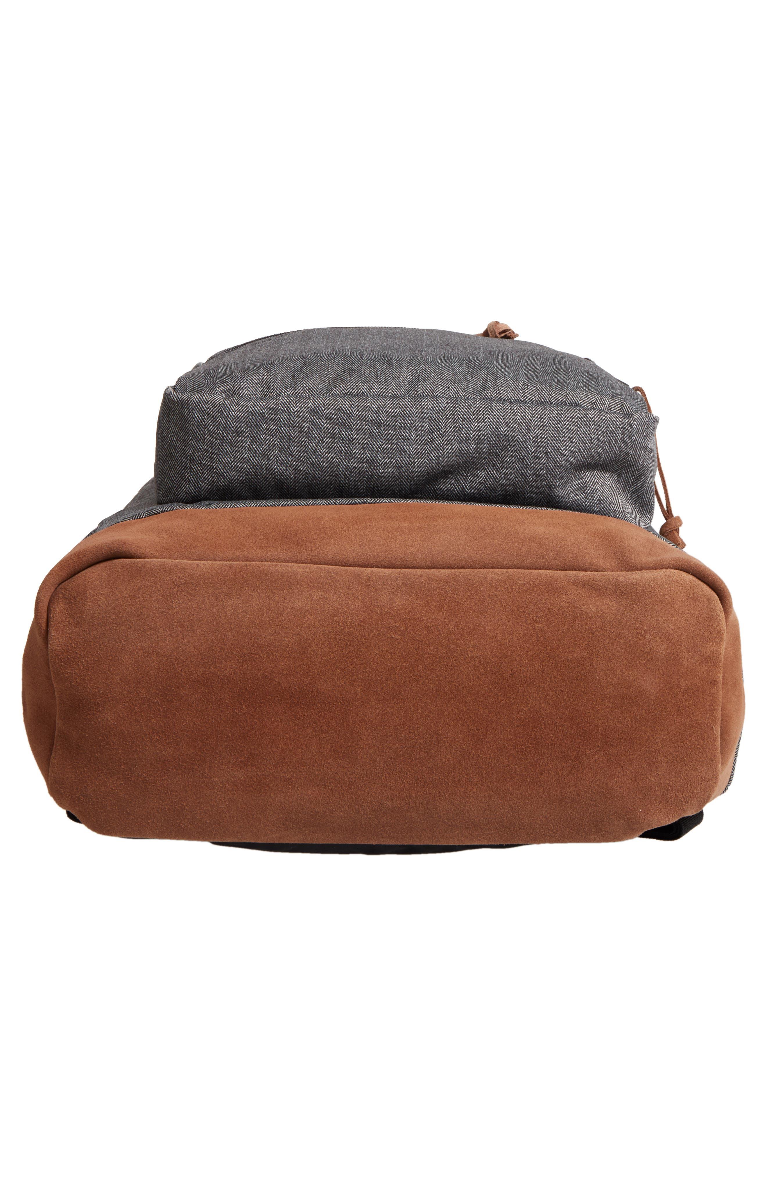 'Right Pack' Backpack,                             Alternate thumbnail 6, color,                             BLACK/ WHITE