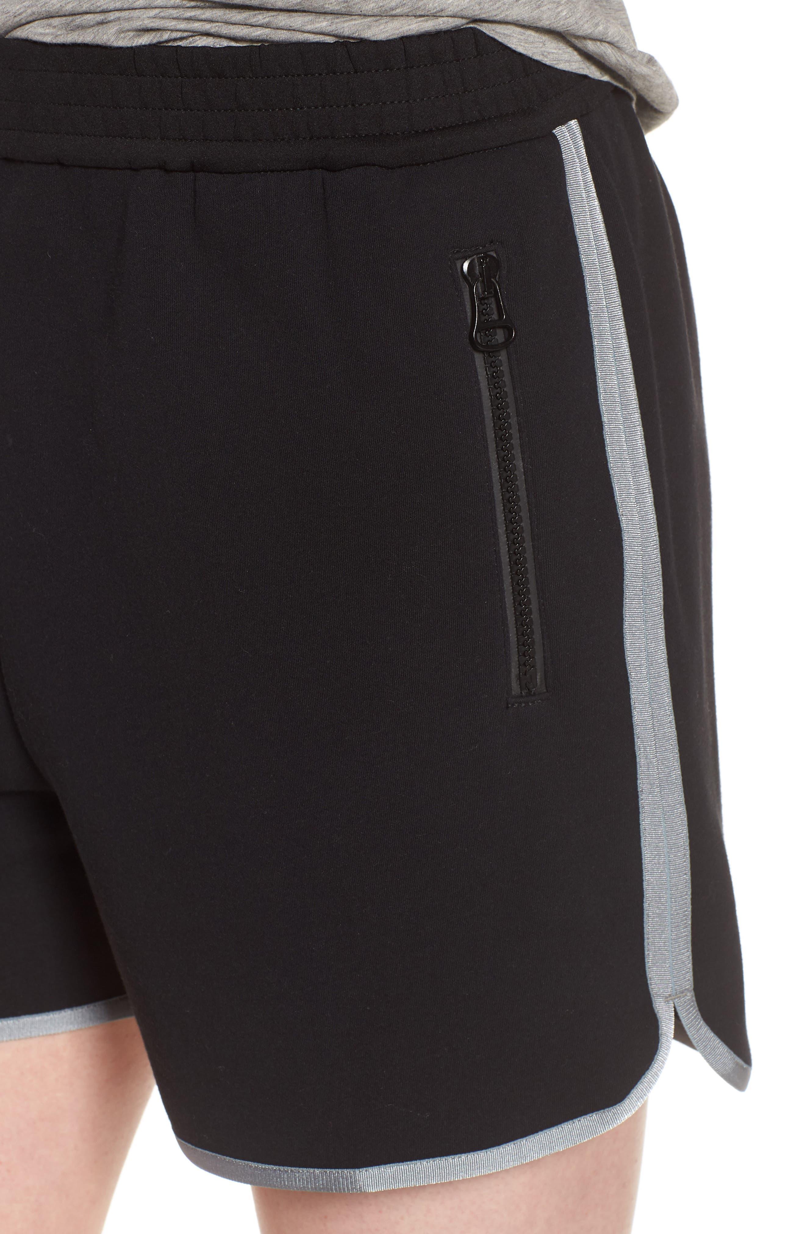 Gym Shorts,                             Alternate thumbnail 4, color,                             BLACK