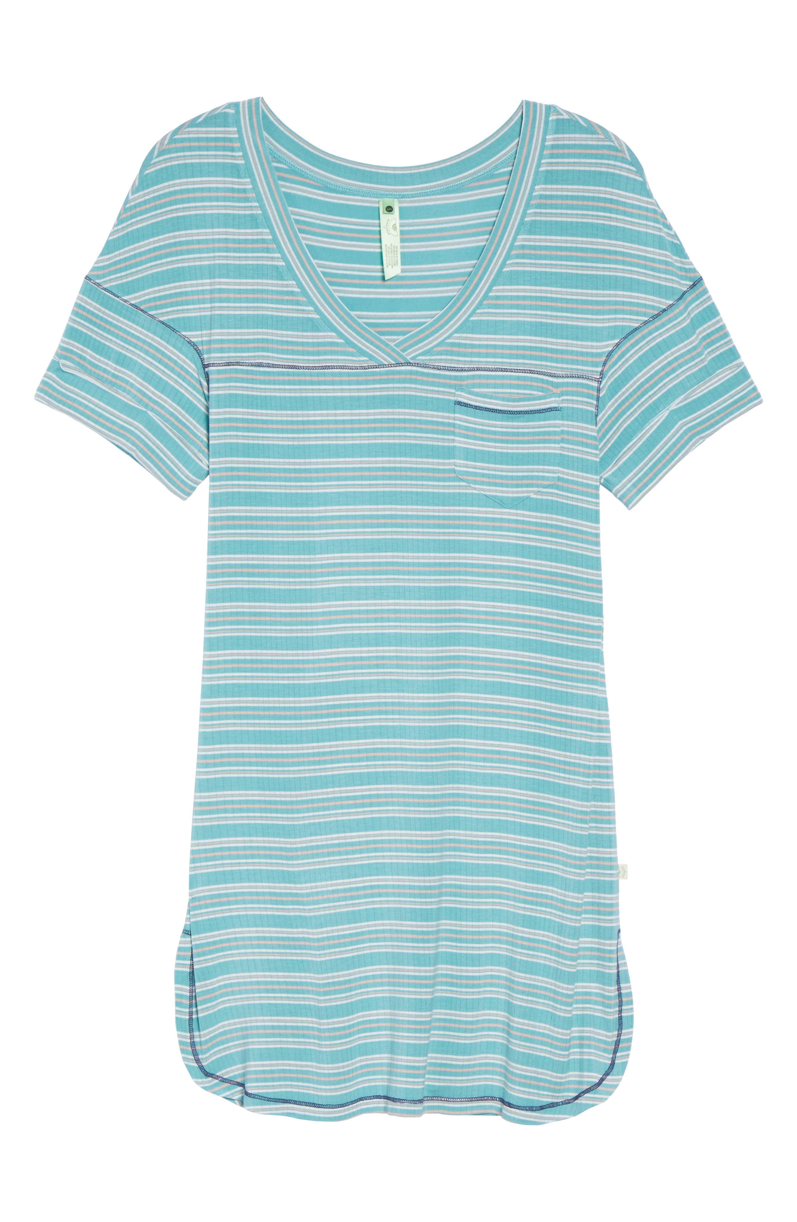 Rib Sleep Shirt,                             Alternate thumbnail 6, color,                             300