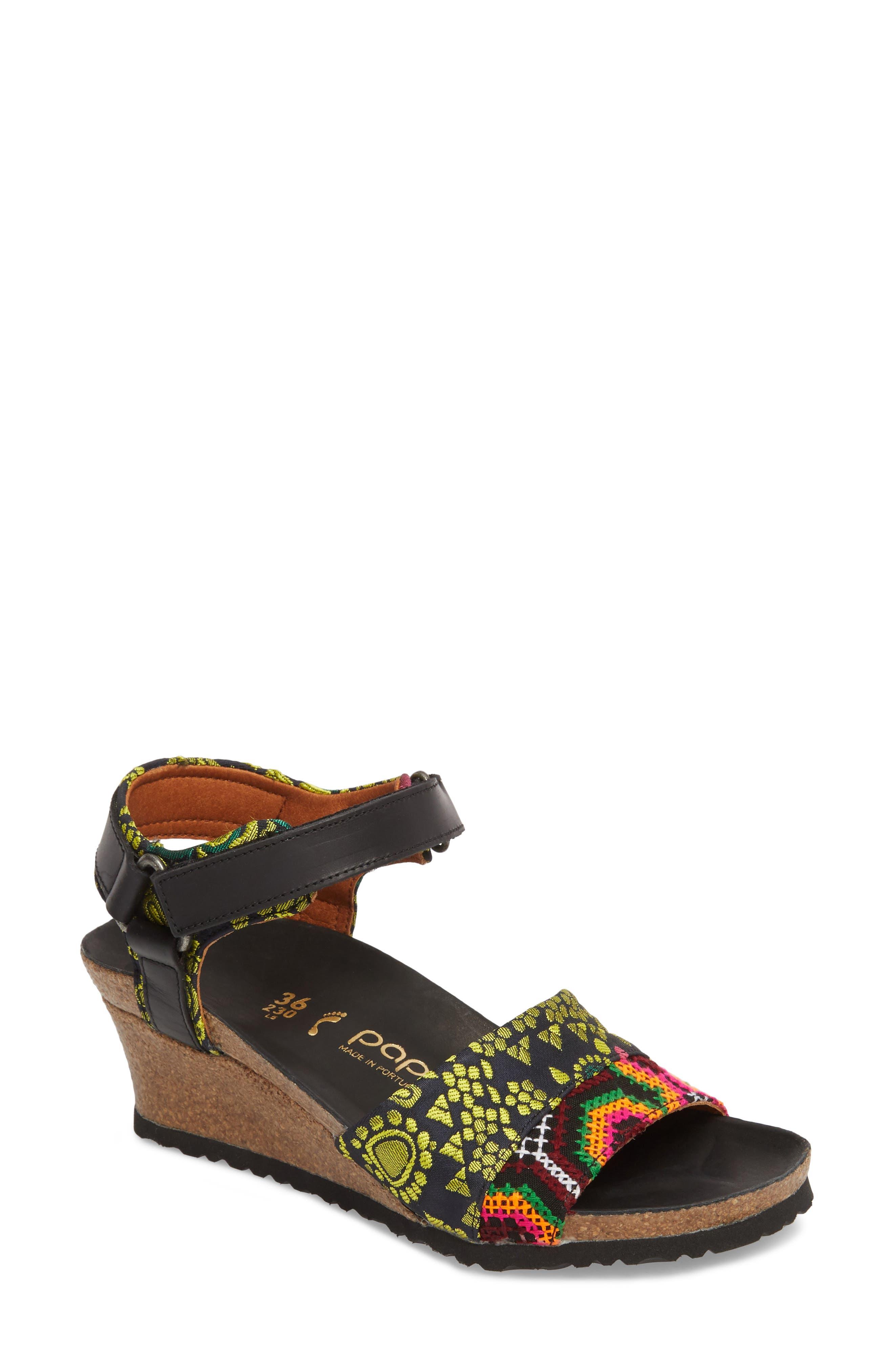 Eve Wedge Sandal,                         Main,                         color,