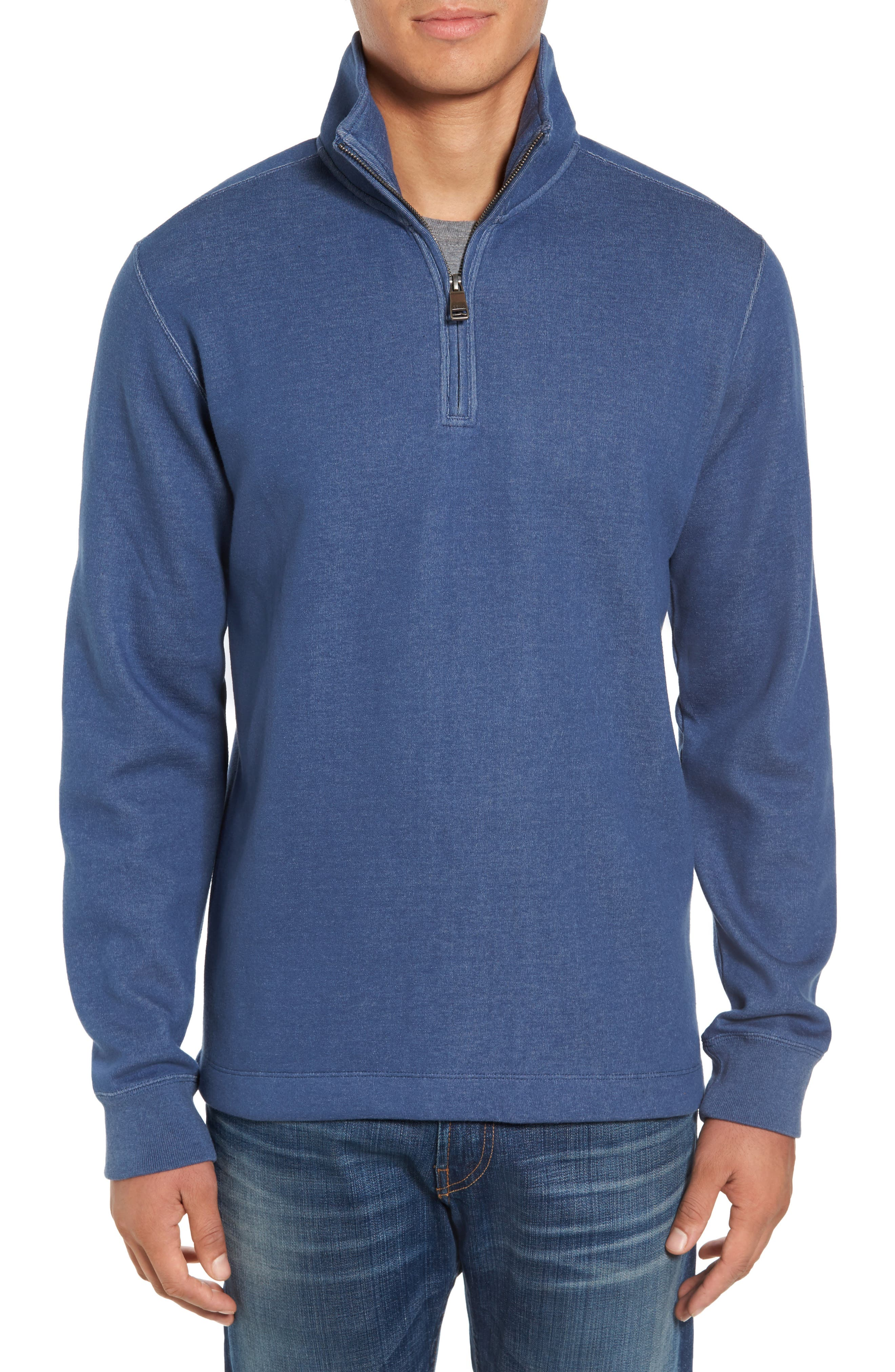 Upper Deck Half Zip Pullover,                         Main,                         color, 410