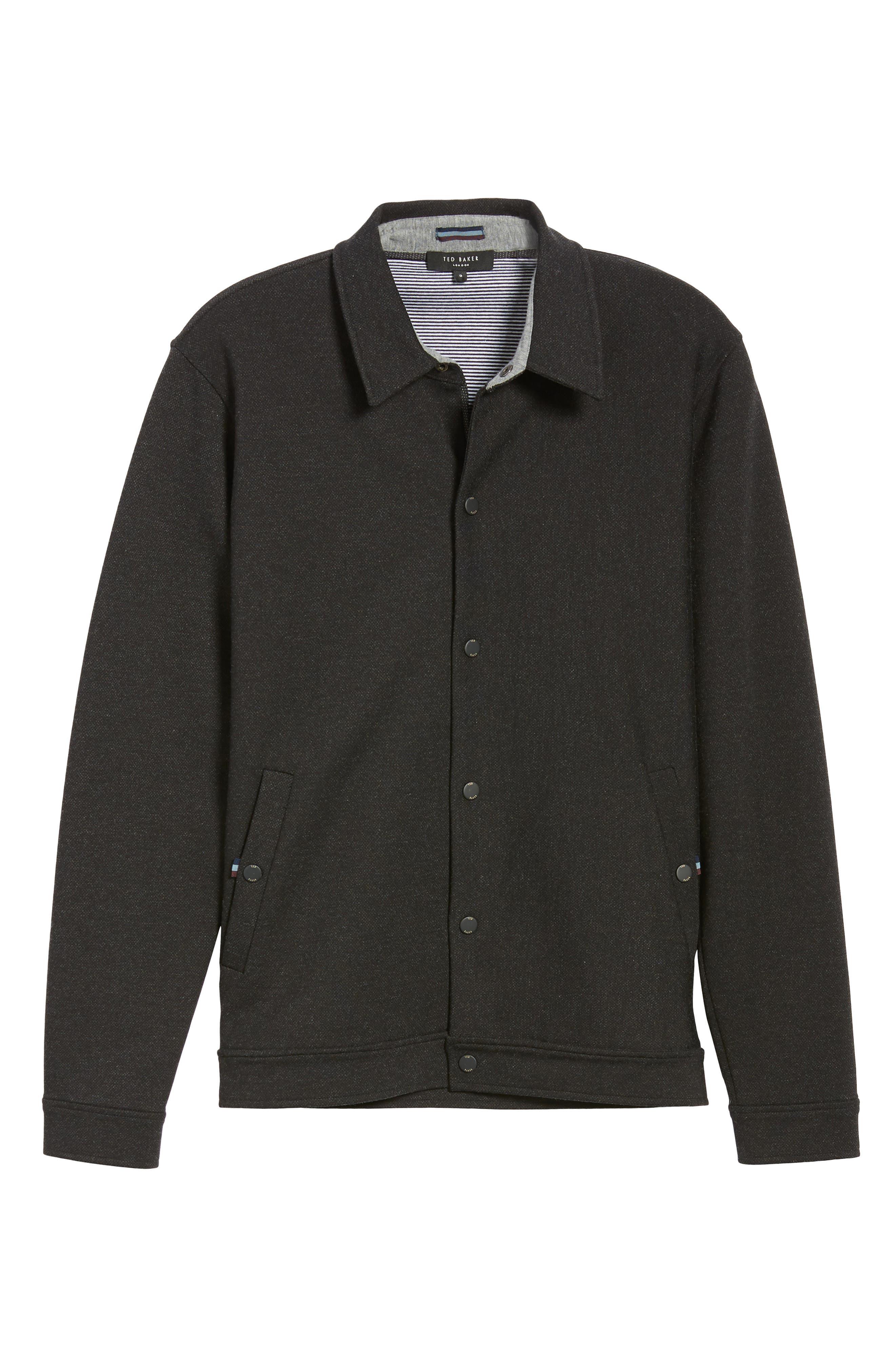 Flapjak Knit Shirt,                             Alternate thumbnail 7, color,                             BLACK