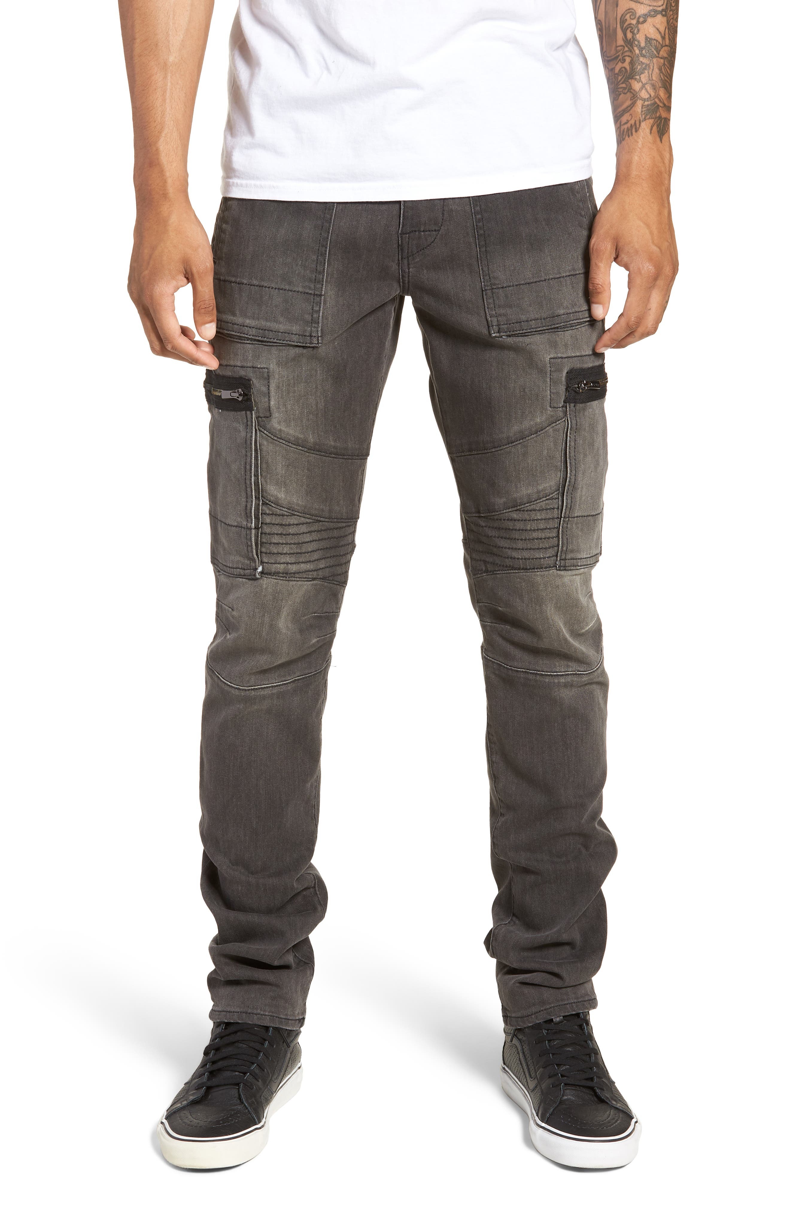 Nomad Straight Leg Jeans,                             Main thumbnail 1, color,                             VOLCANIC ROCK