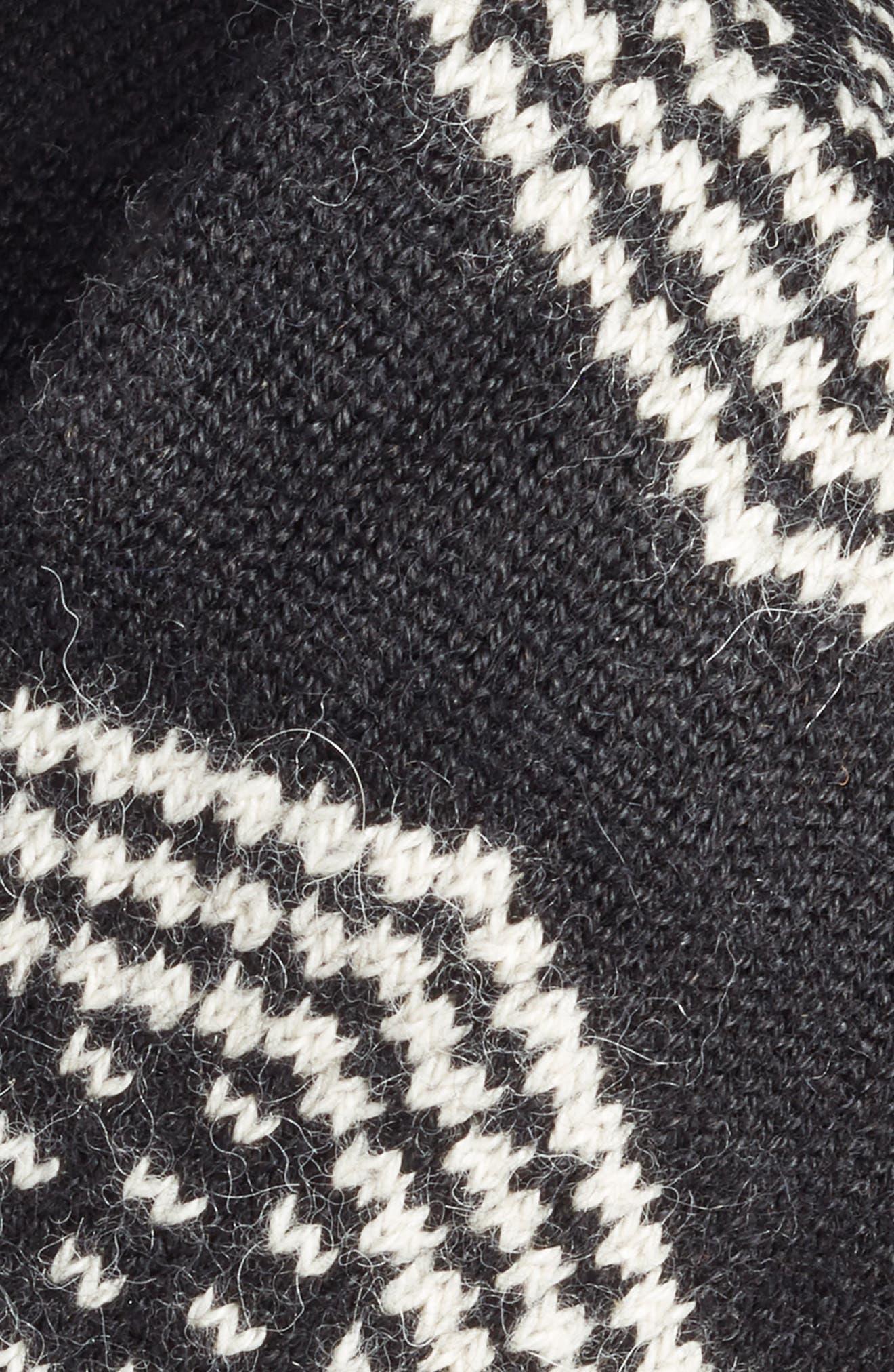 LAMINI,                             Tribeca Alpaca Headband,                             Alternate thumbnail 2, color,                             001