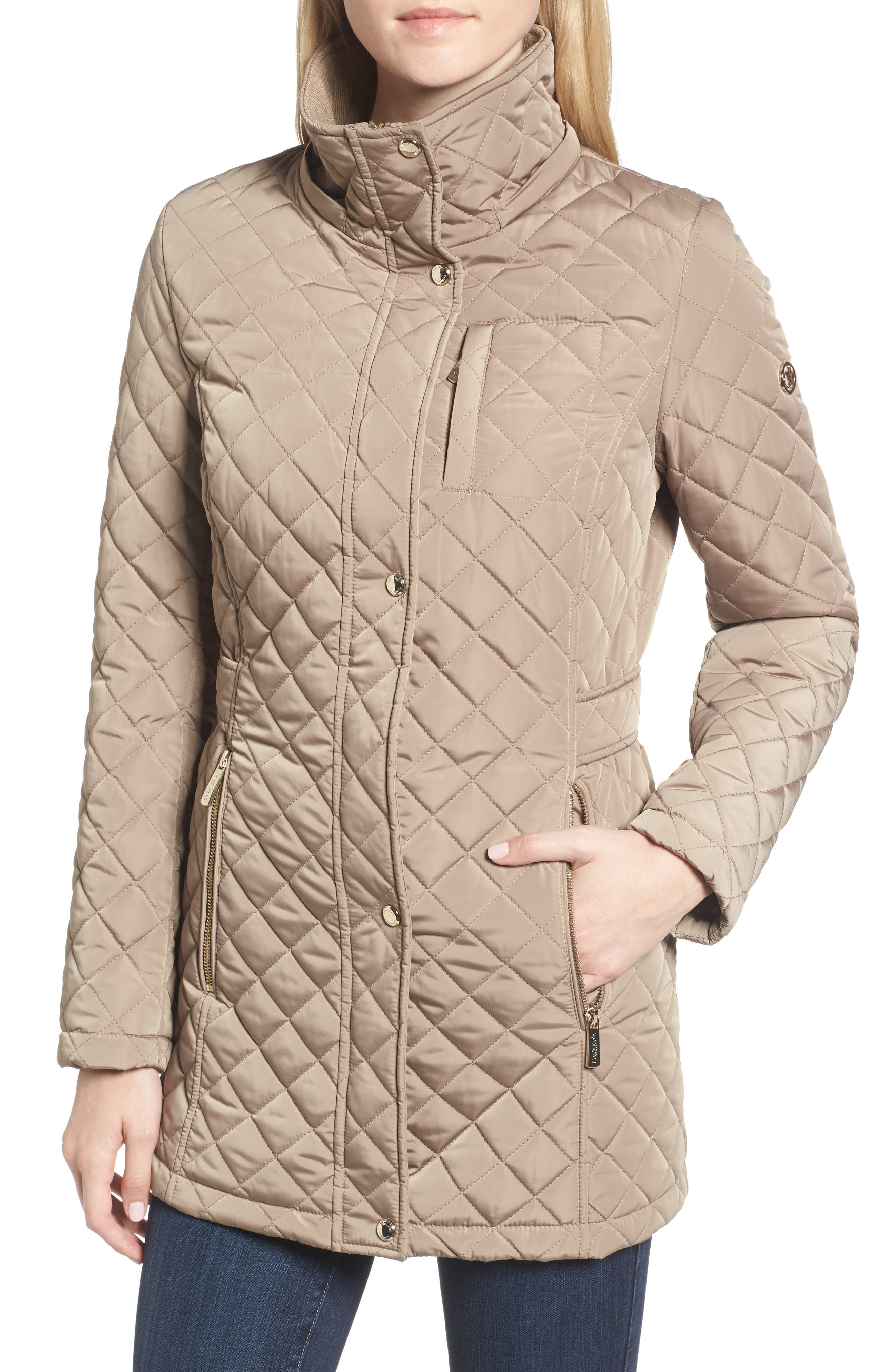 Hooded Quilted Jacket,                             Alternate thumbnail 27, color,