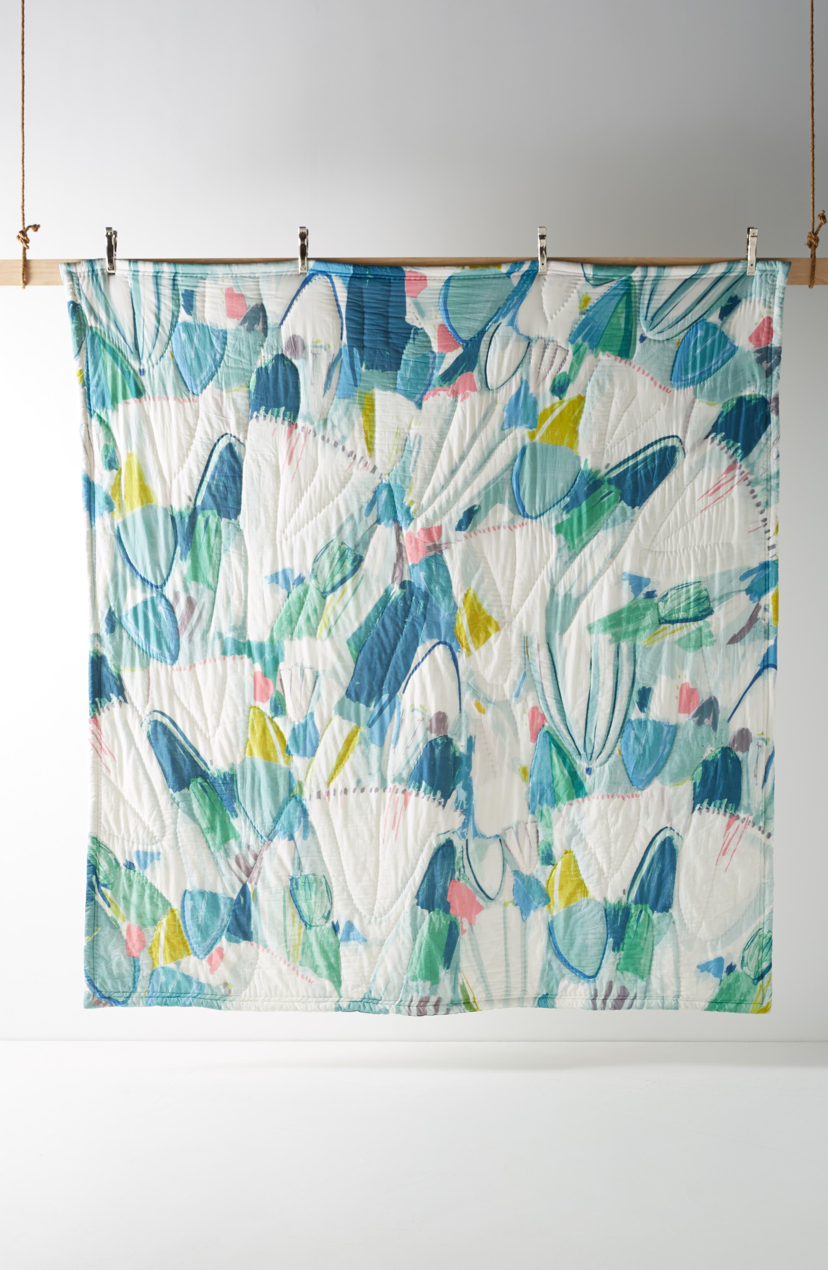 Laci Fowler Quilt,                             Alternate thumbnail 5, color,                             BLUE