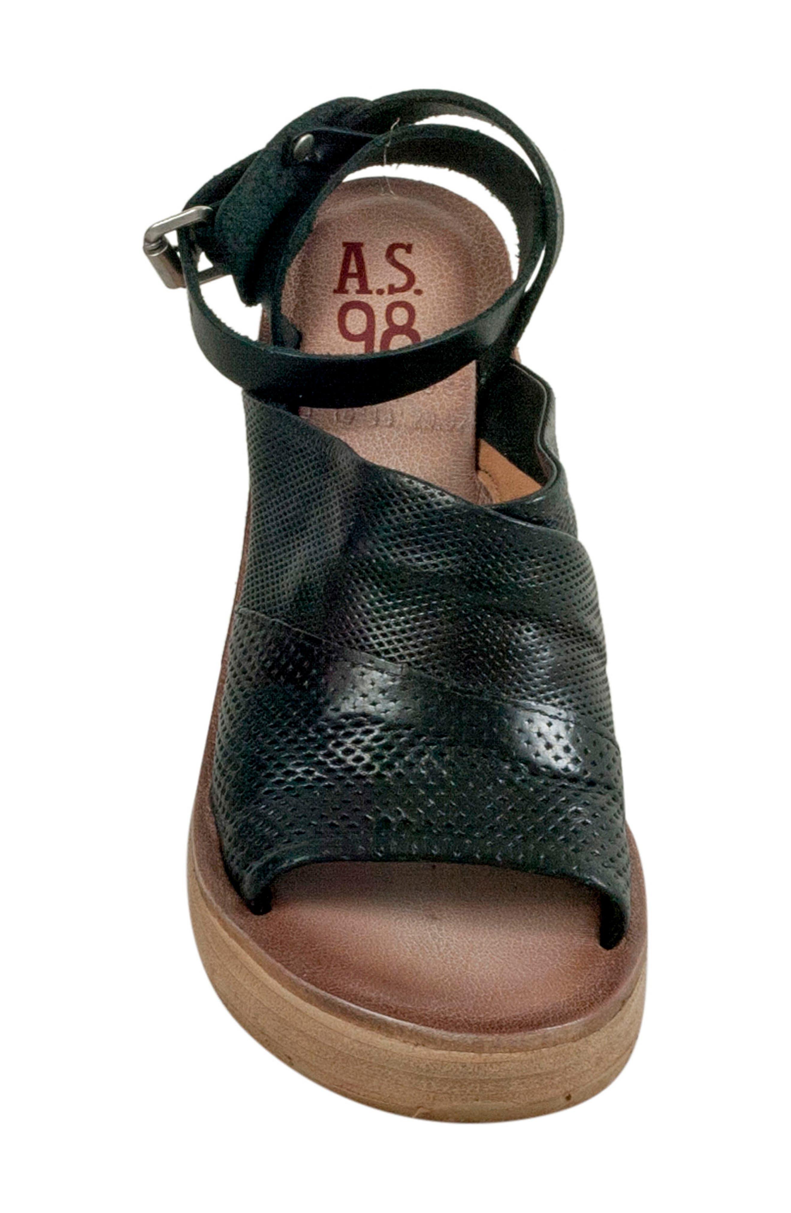 Niall Platform Wedge Sandal,                             Alternate thumbnail 9, color,