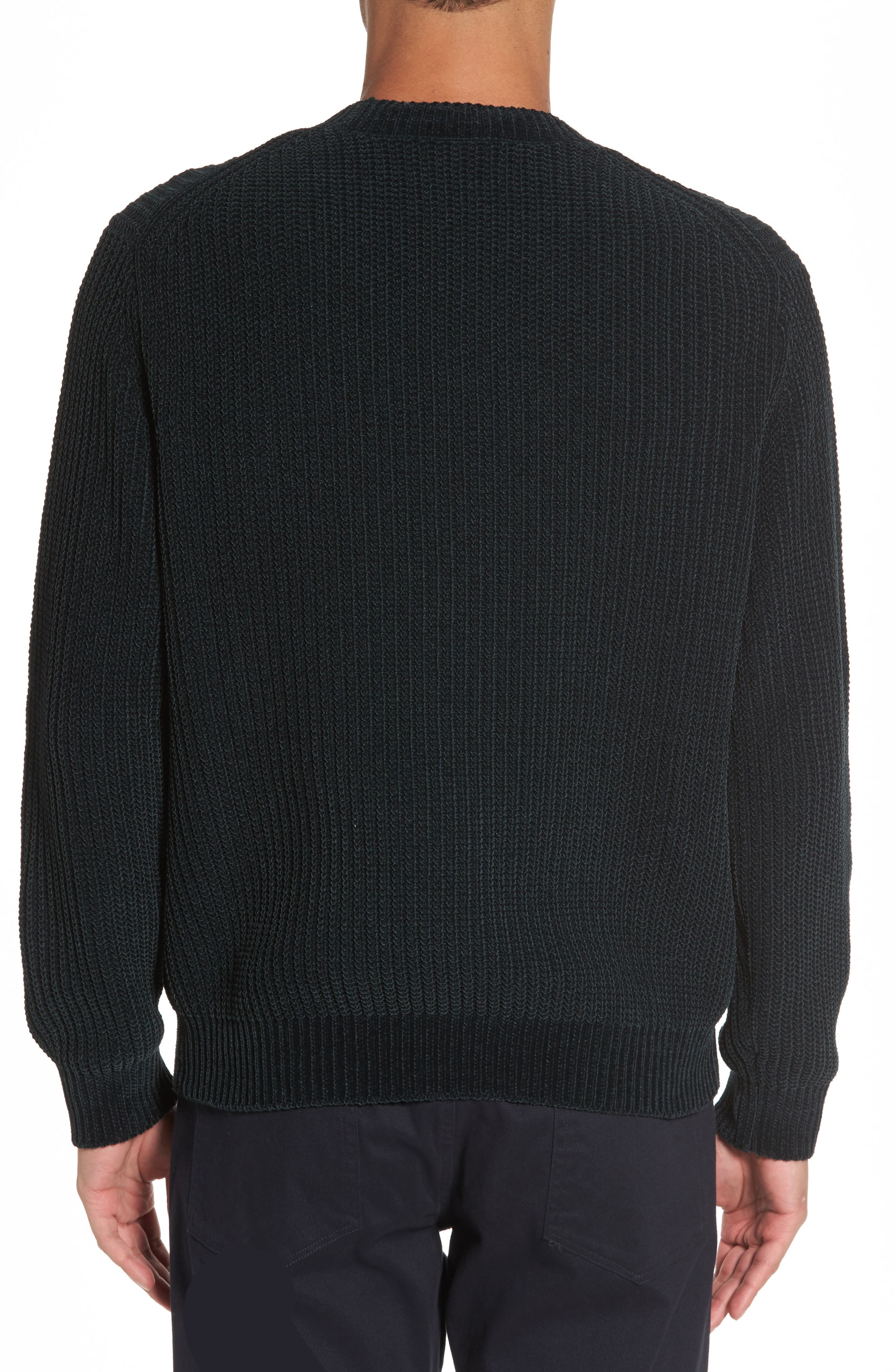Ribbed Crewneck Sweater,                             Alternate thumbnail 2, color,                             357