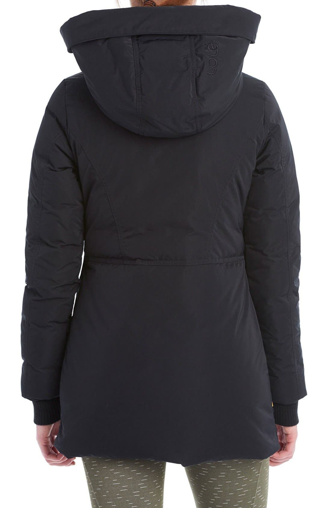 LOLE,                             'Nicky' Hooded Insulated Jacket,                             Alternate thumbnail 2, color,                             001