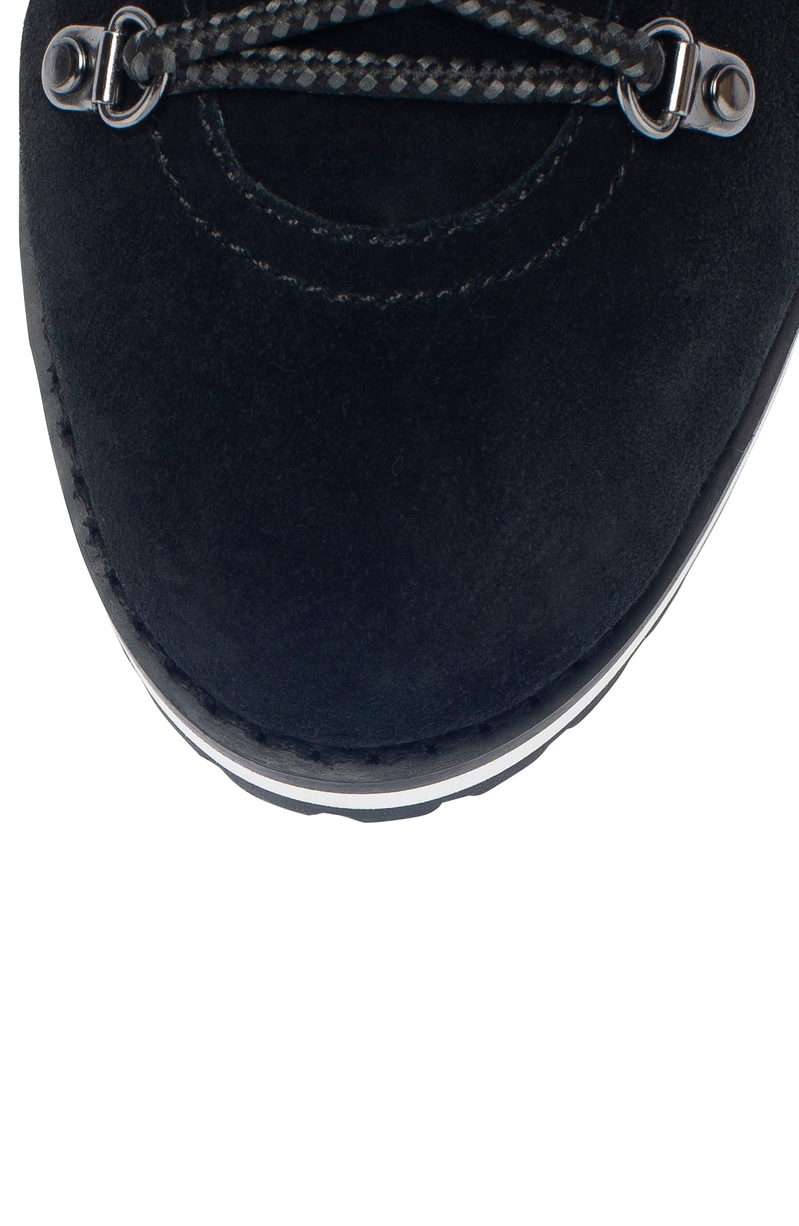 BLONDO,                             Regan Waterproof Boot,                             Alternate thumbnail 5, color,                             BLACK SUEDE
