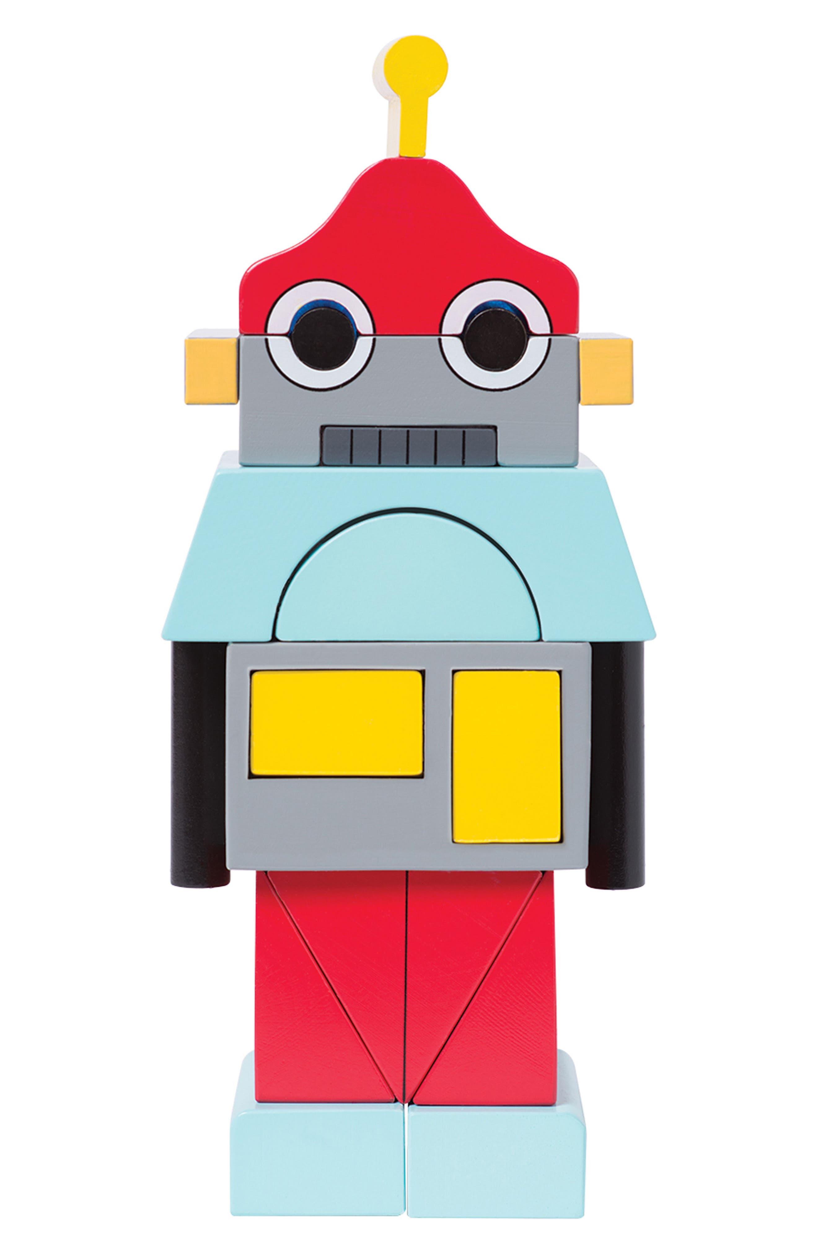 Beep the Robot Magentic Blocks,                             Main thumbnail 1, color,                             600