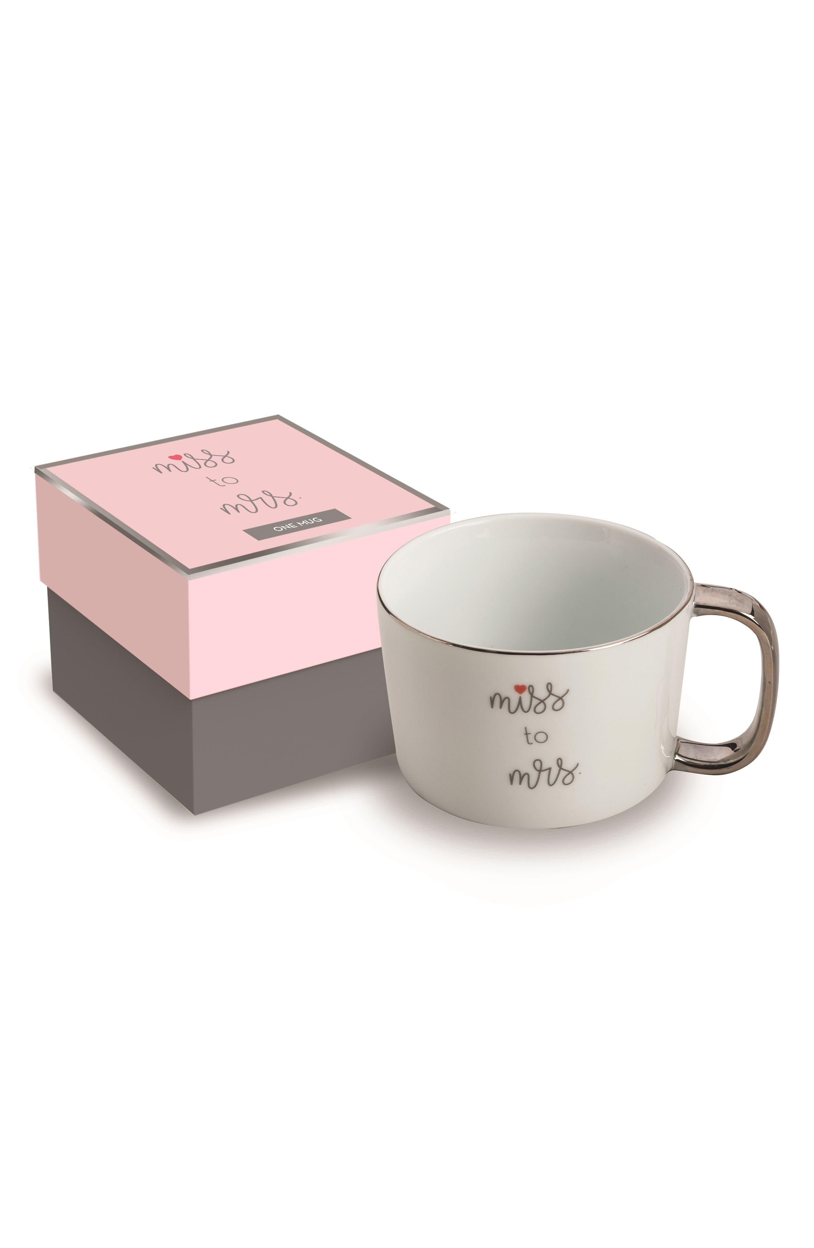 Miss To Mrs. Mug,                         Main,                         color, 100