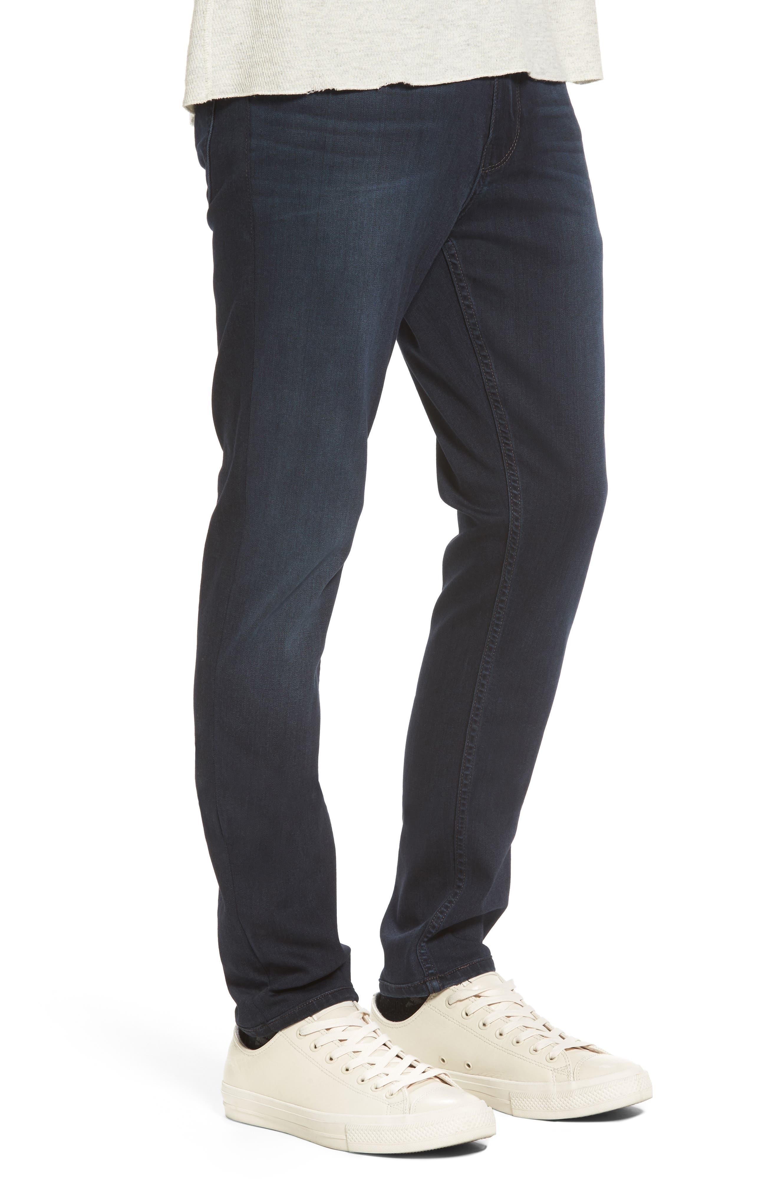 Croft Skinny Fit Jeans,                             Alternate thumbnail 3, color,                             400