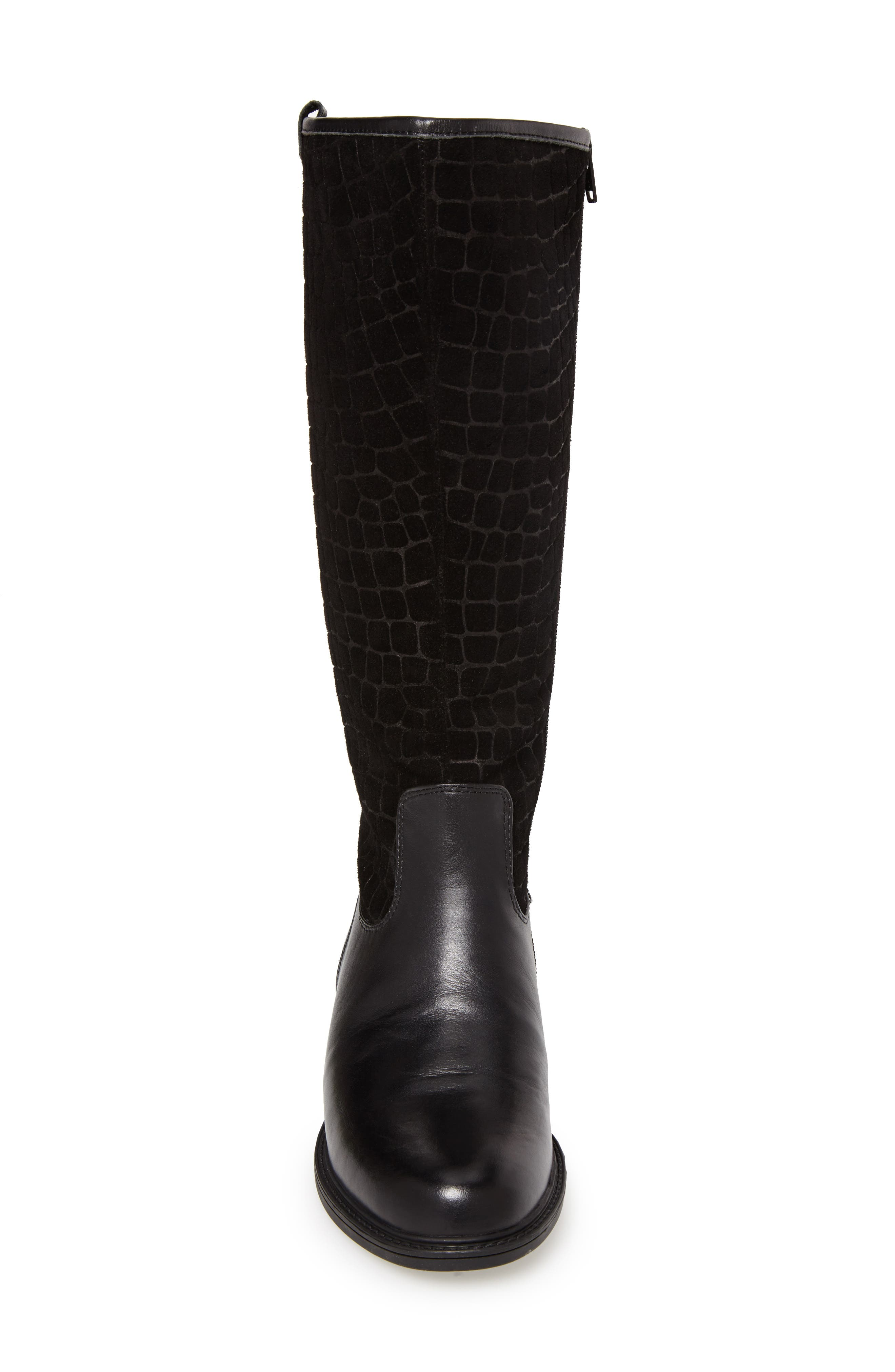 'Best' Calfskin Leather & Suede Boot,                             Alternate thumbnail 14, color,