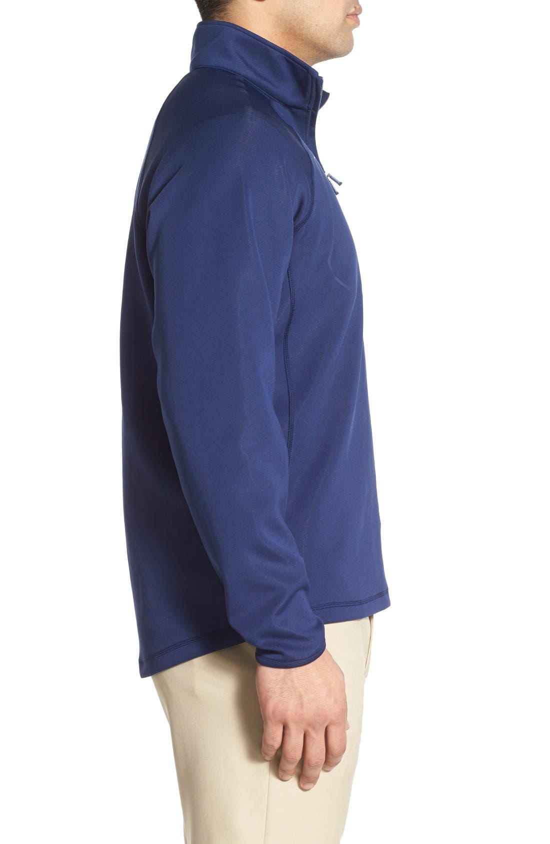 XH2O Crawford Stretch Quarter Zip Golf Pullover,                             Alternate thumbnail 35, color,