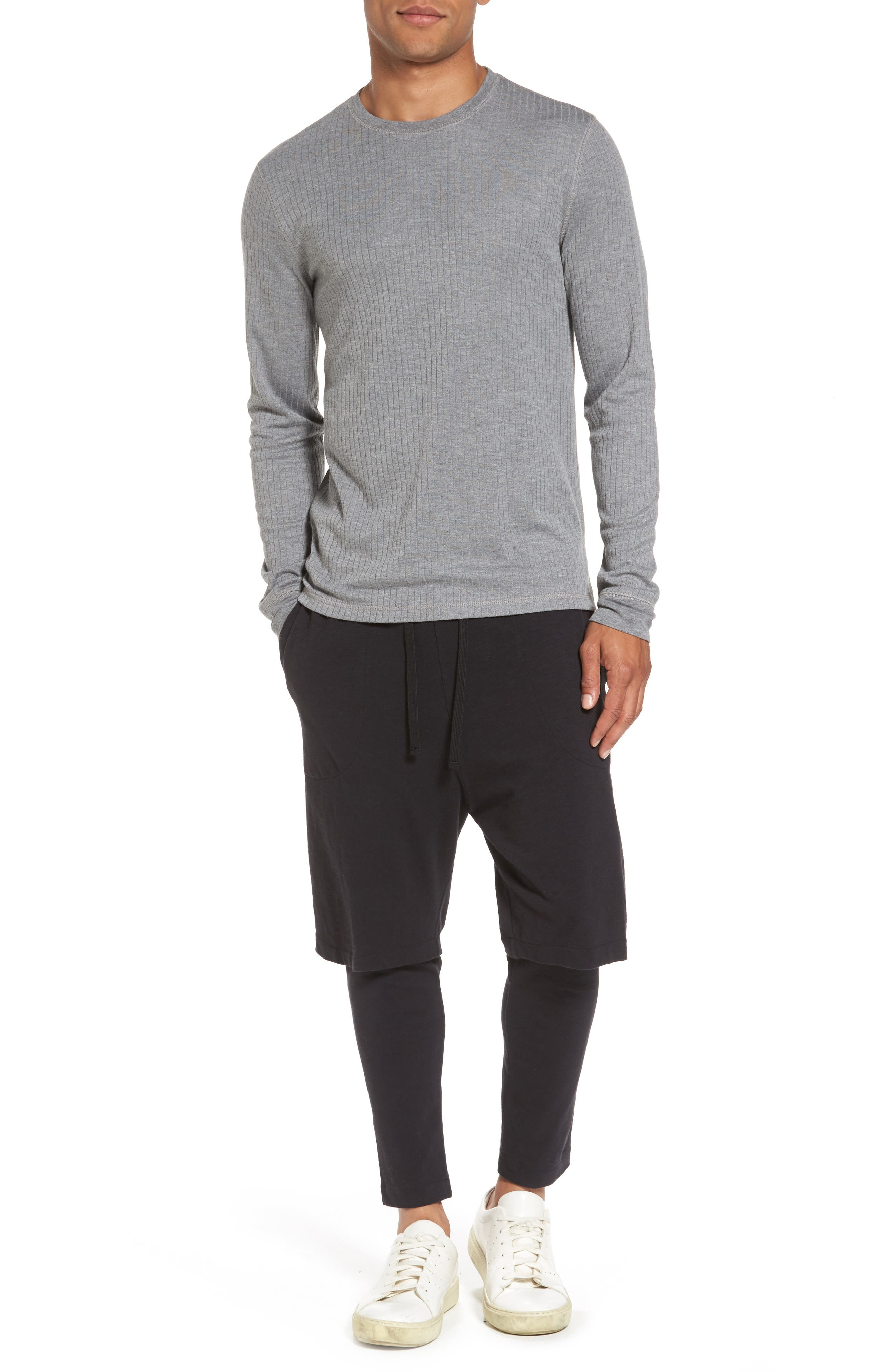 Ribbed Pullover,                             Alternate thumbnail 7, color,                             095
