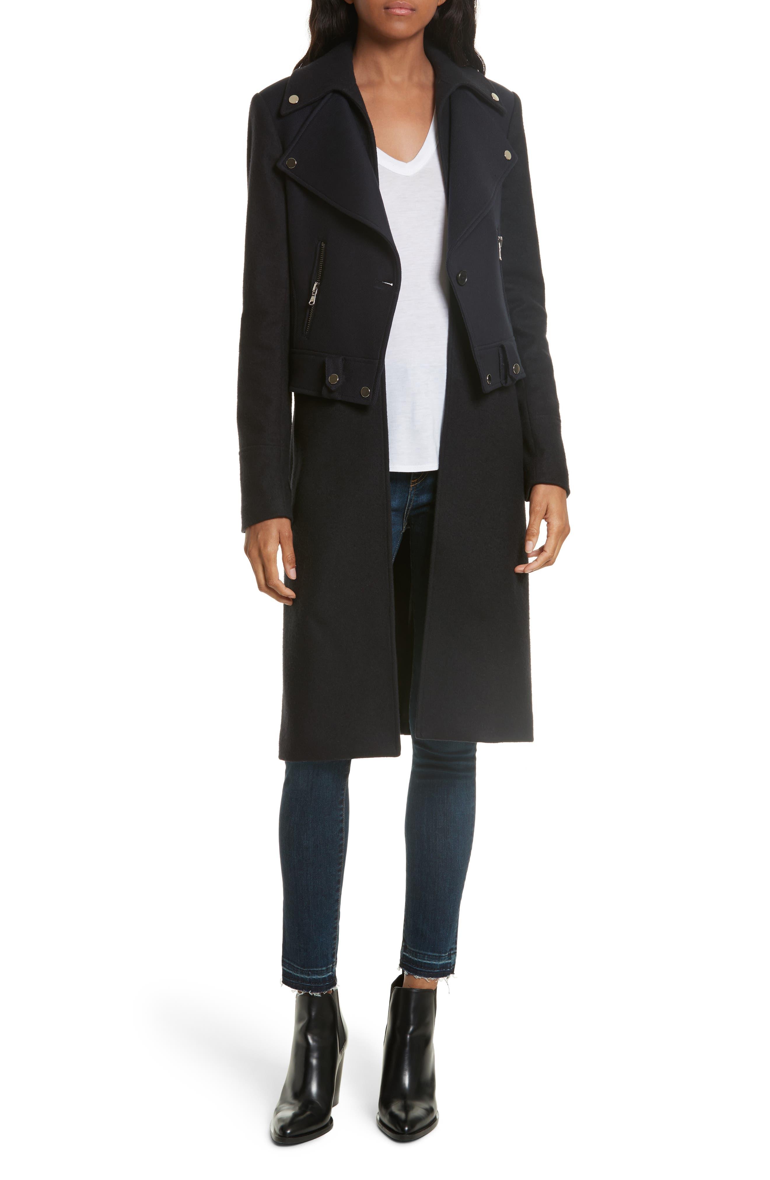 Alcott Wool & Cashmere Blend Vest Coat,                             Alternate thumbnail 7, color,                             414
