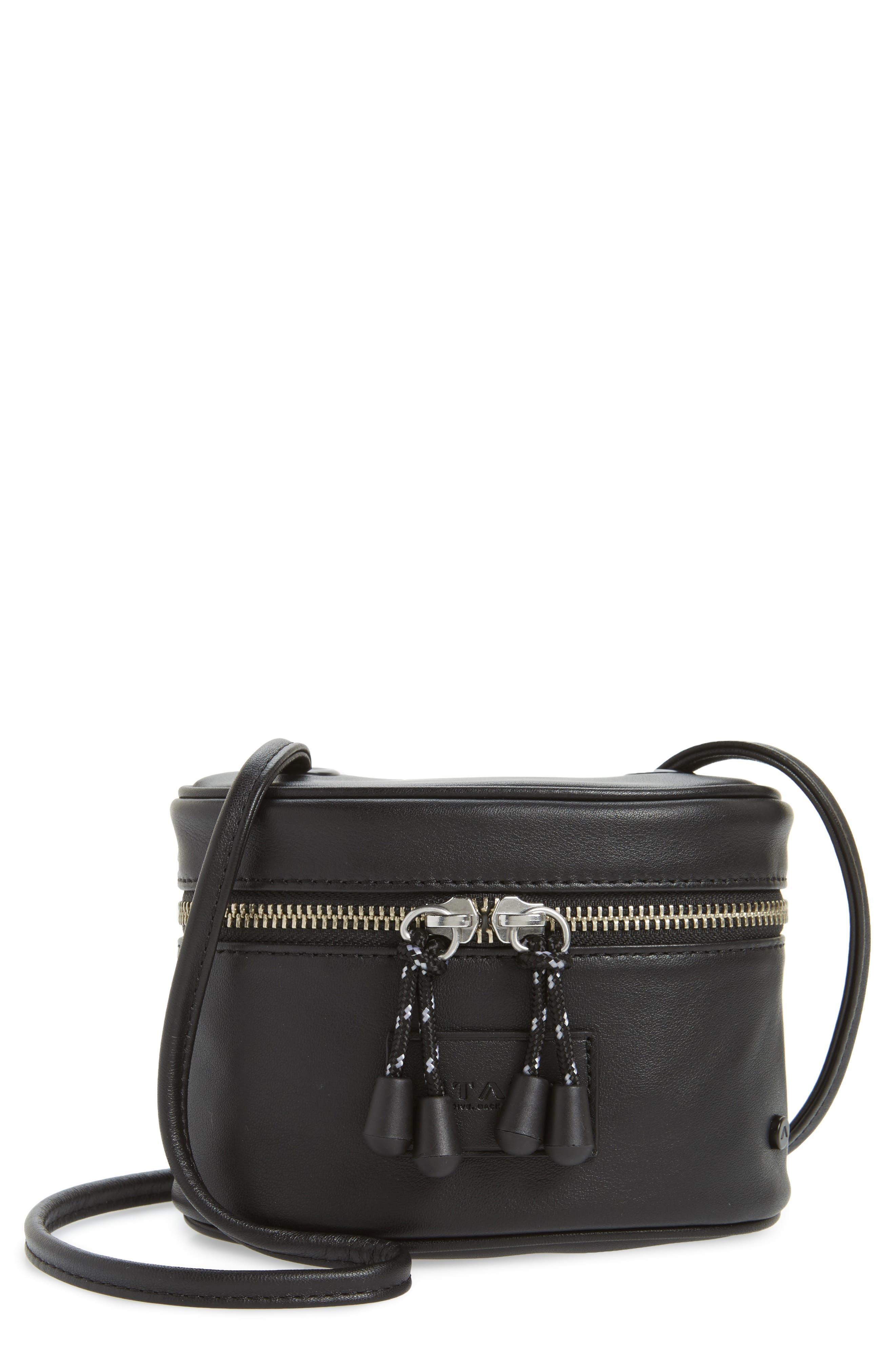 Greenwood Autumn Leather Crossbody Bag,                         Main,                         color, 001