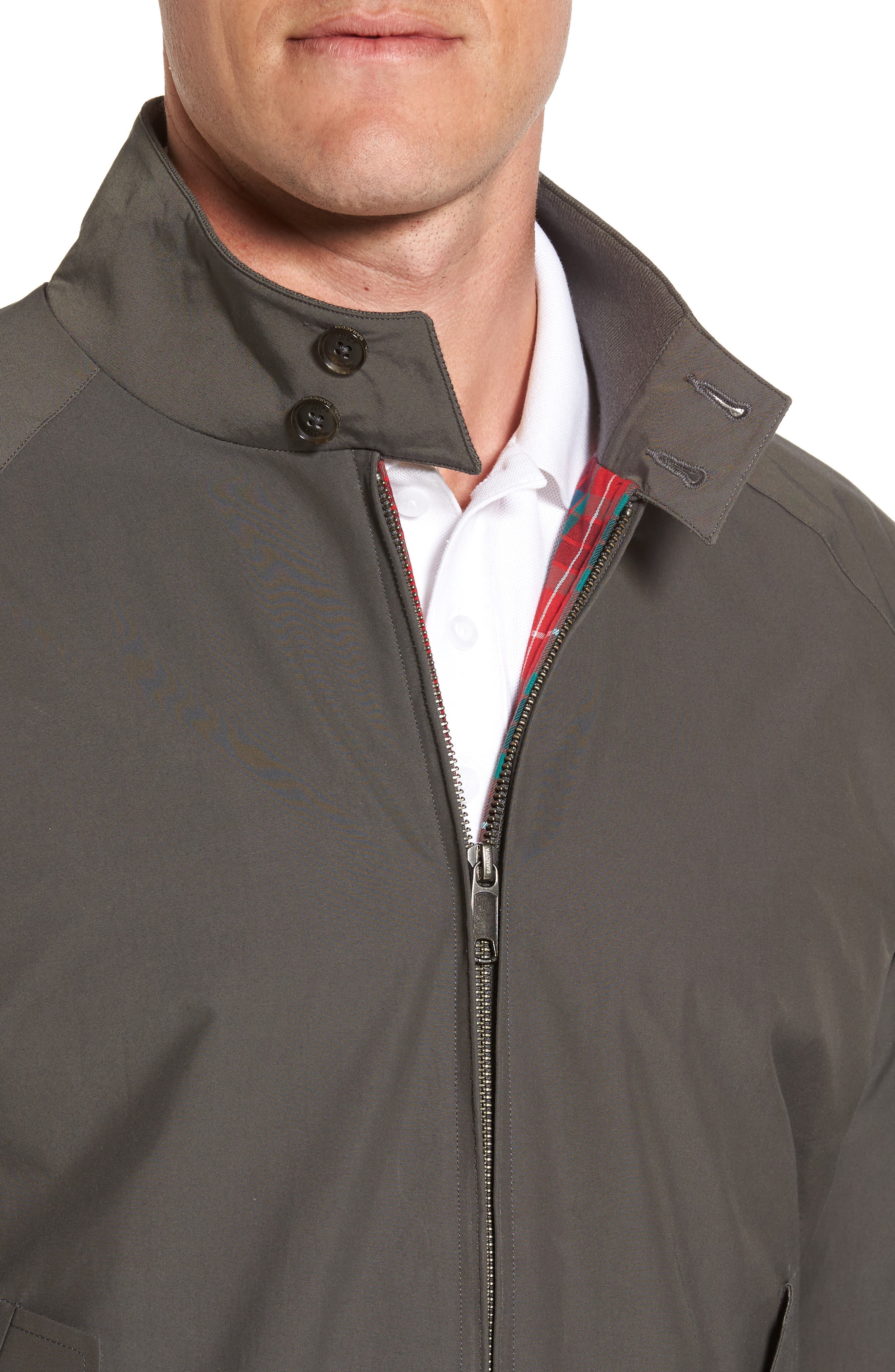 G9 Water Resistant Harrington Jacket,                             Alternate thumbnail 4, color,                             021