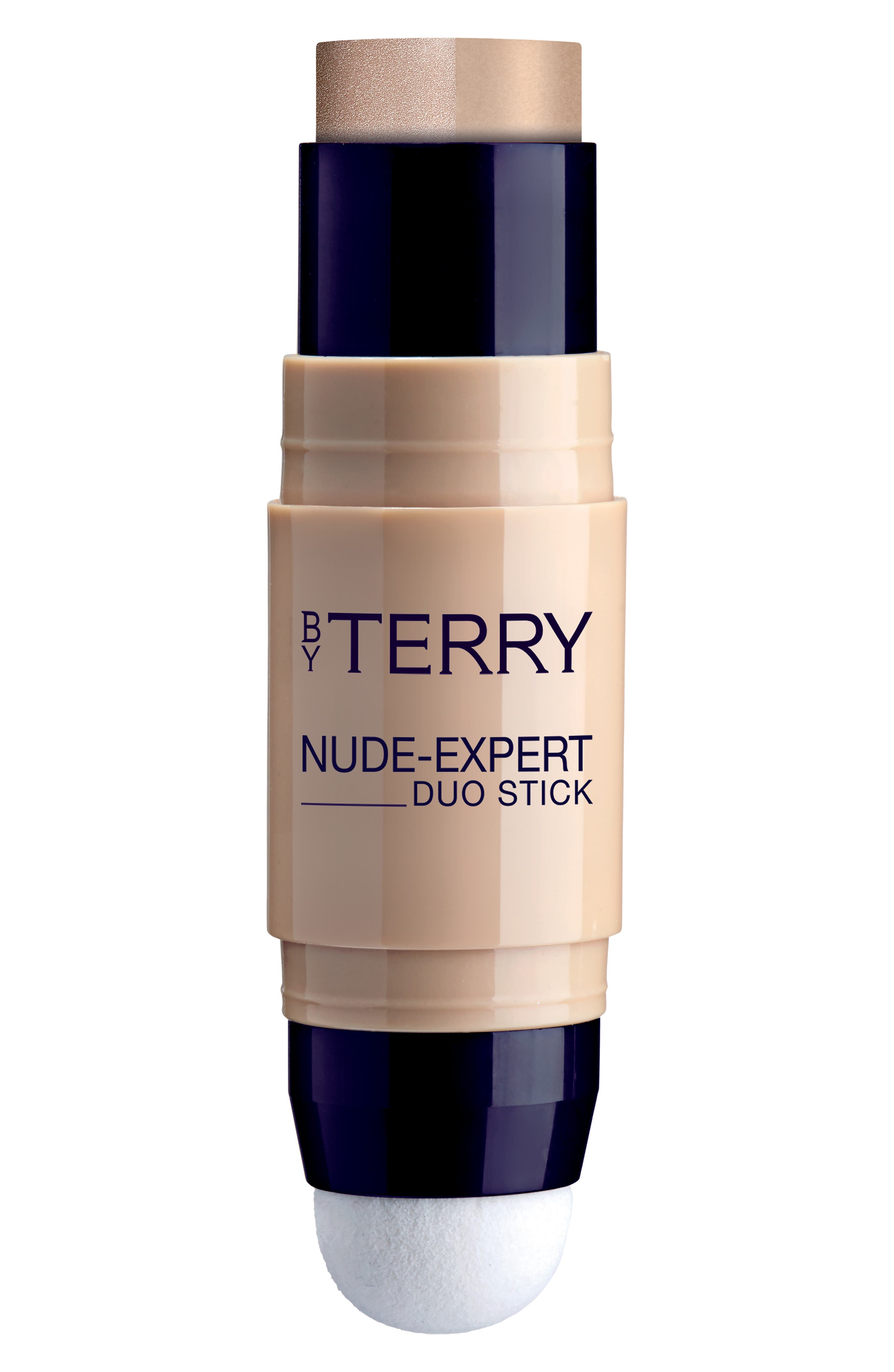 BY TERRY Nude-Expert Foundation & Highlighter Stick - R- Peach Beige
