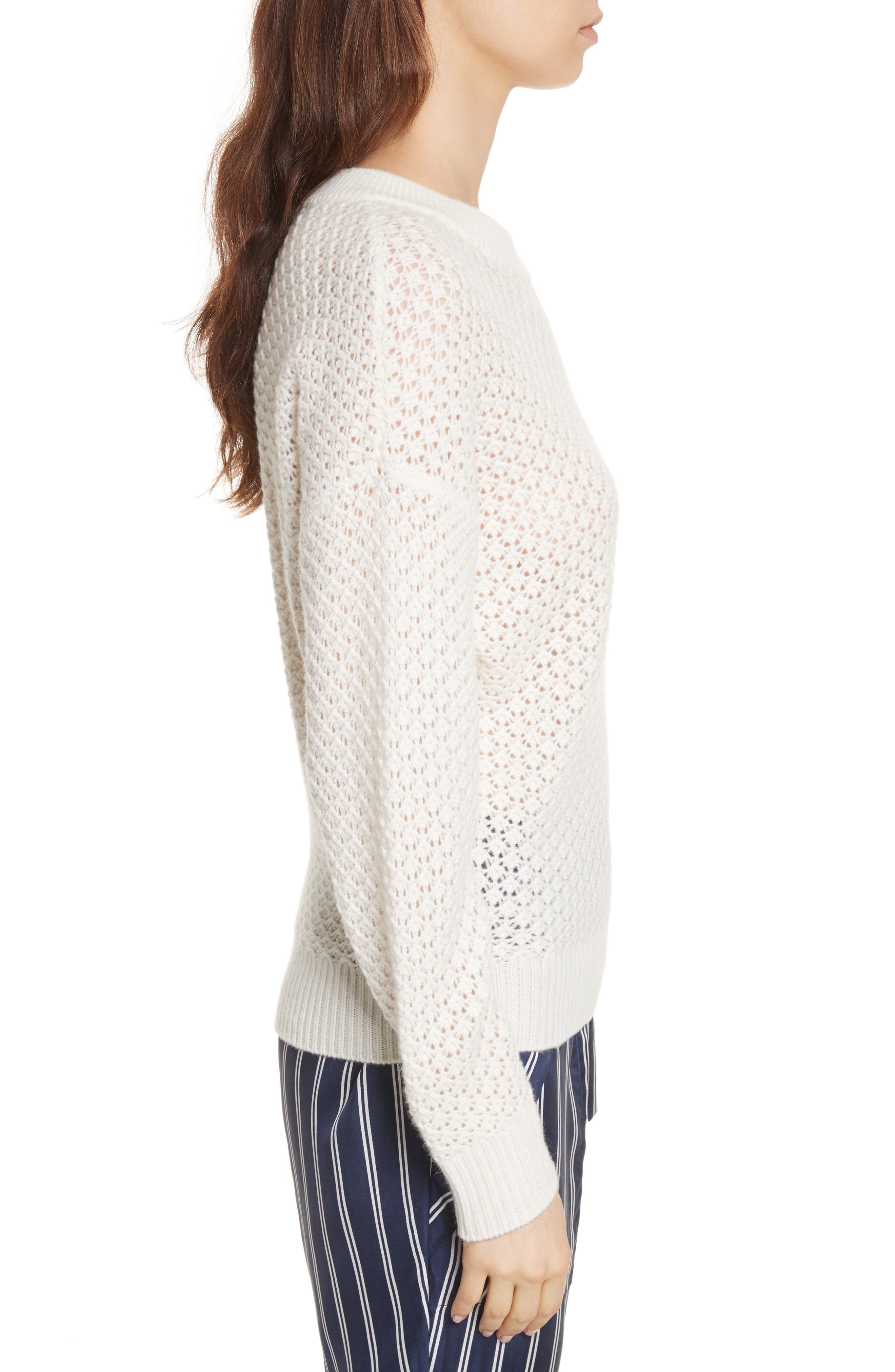 Vedis Wool & Cashmere Sweater,                             Alternate thumbnail 3, color,