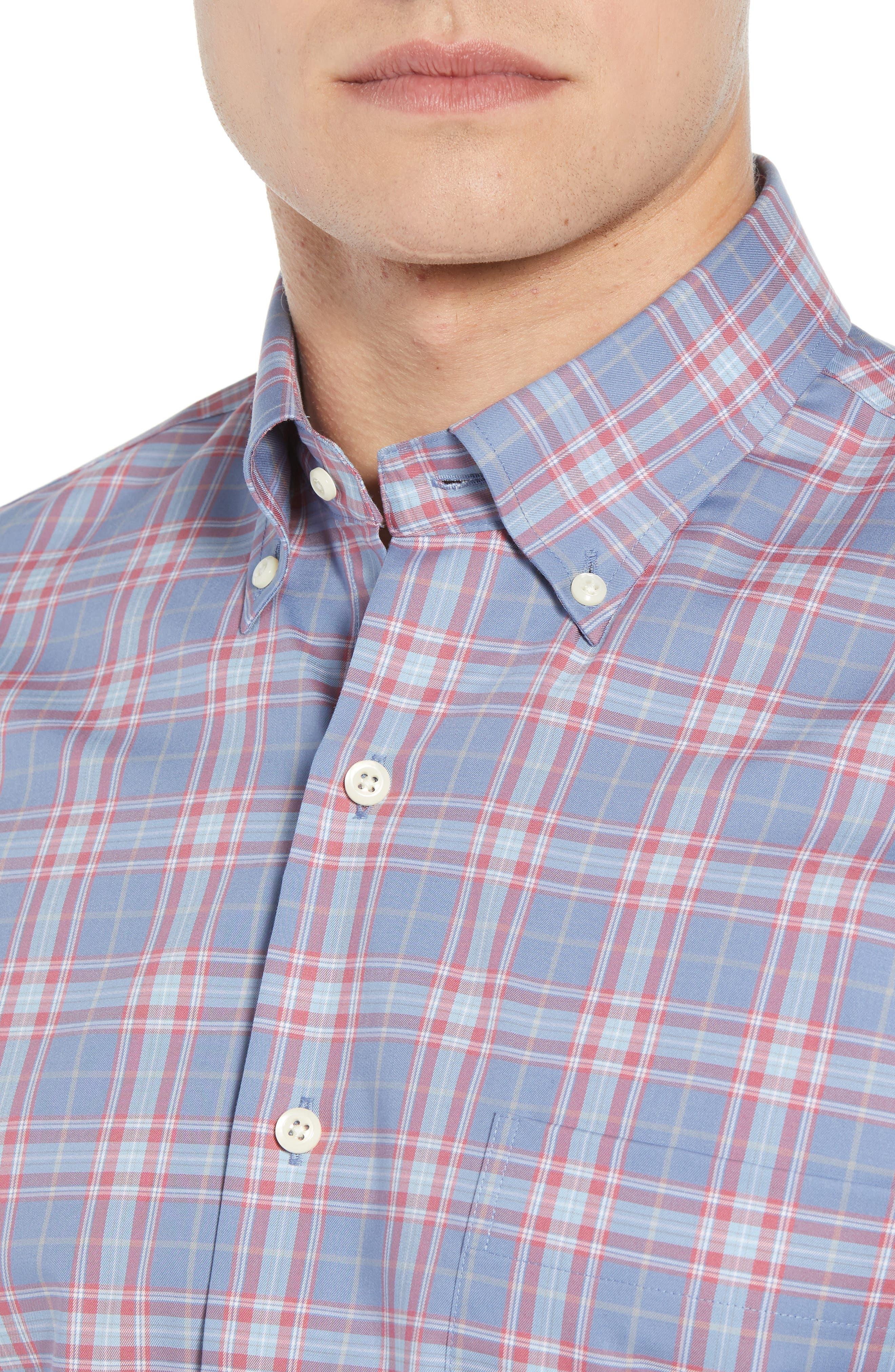 Crown Ease Archipelago Regular Fit Plaid Sport Shirt,                             Alternate thumbnail 2, color,                             524